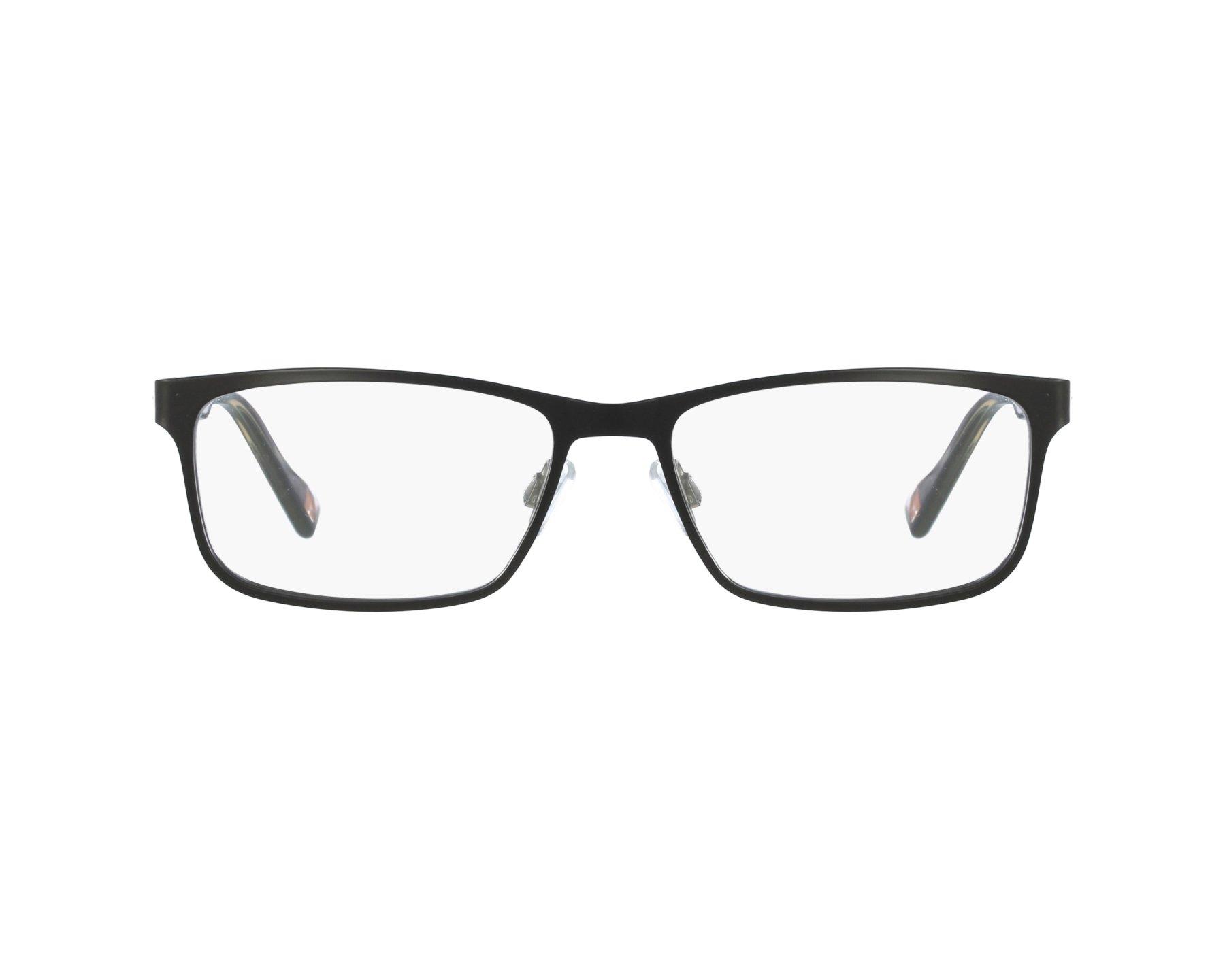 90ef4f74a7 eyeglasses Boss Orange BO-0151 6SO 53-17 Black profile view
