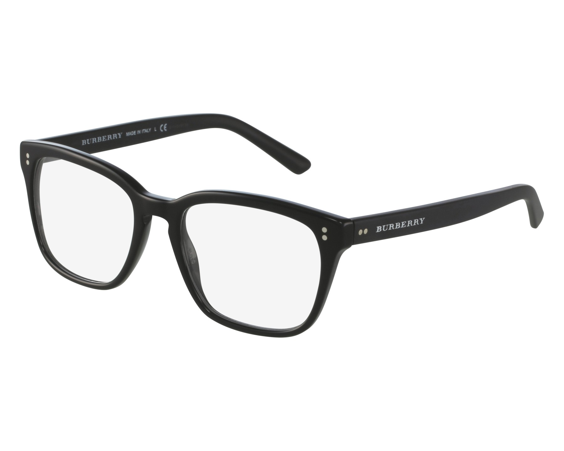 58a2e431e8eb eyeglasses Burberry BE-2225 3001 - Black Black front view