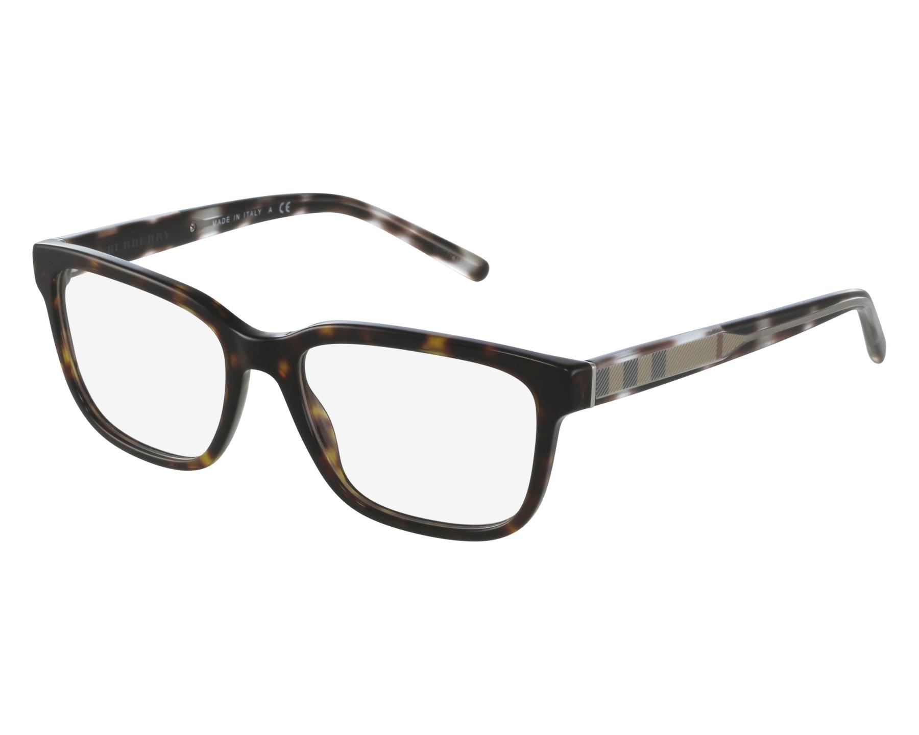 5b59f973406 eyeglasses Burberry BE-2230 3002 - Havana Beige front view
