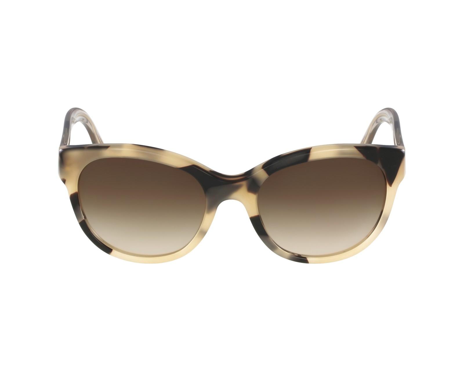 f9a65d7c66 Sunglasses Burberry BE-4187 3502 13 - Beige Gold profile view