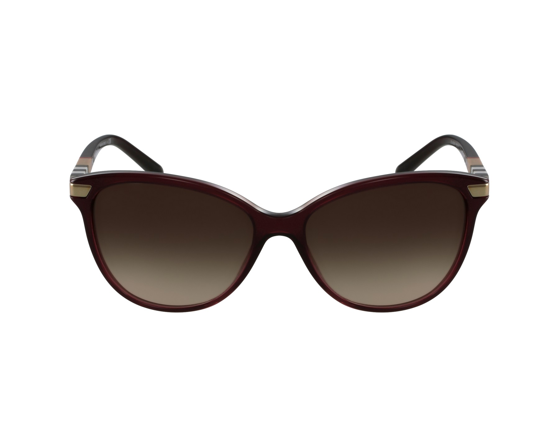 9f1fc148597 Sunglasses Burberry BE-4216 3014 13 57-16 Bordeaux Gold profile view