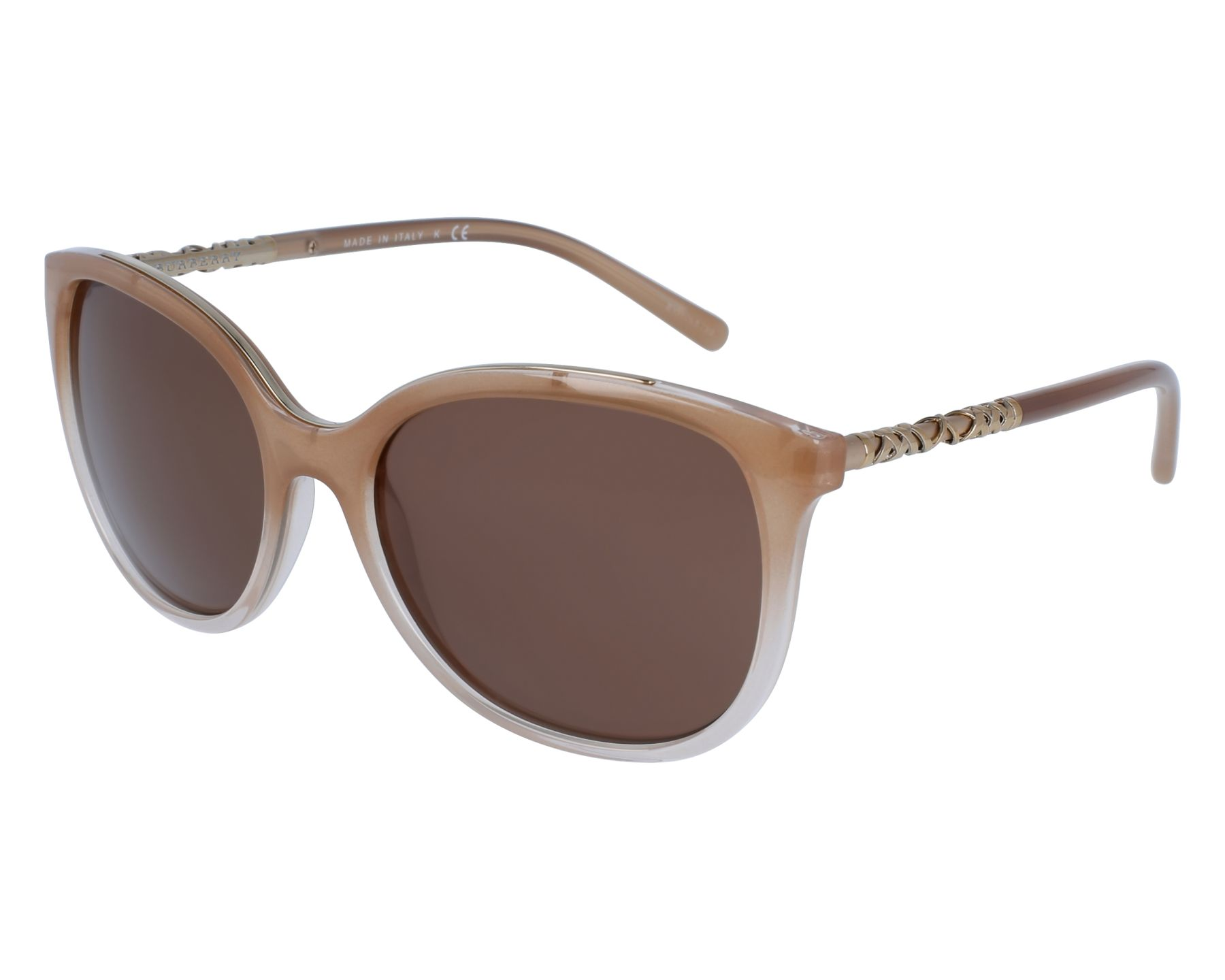 Sunglasses Burberry BE-4237 3354/73 57-18 Beige Gold front view