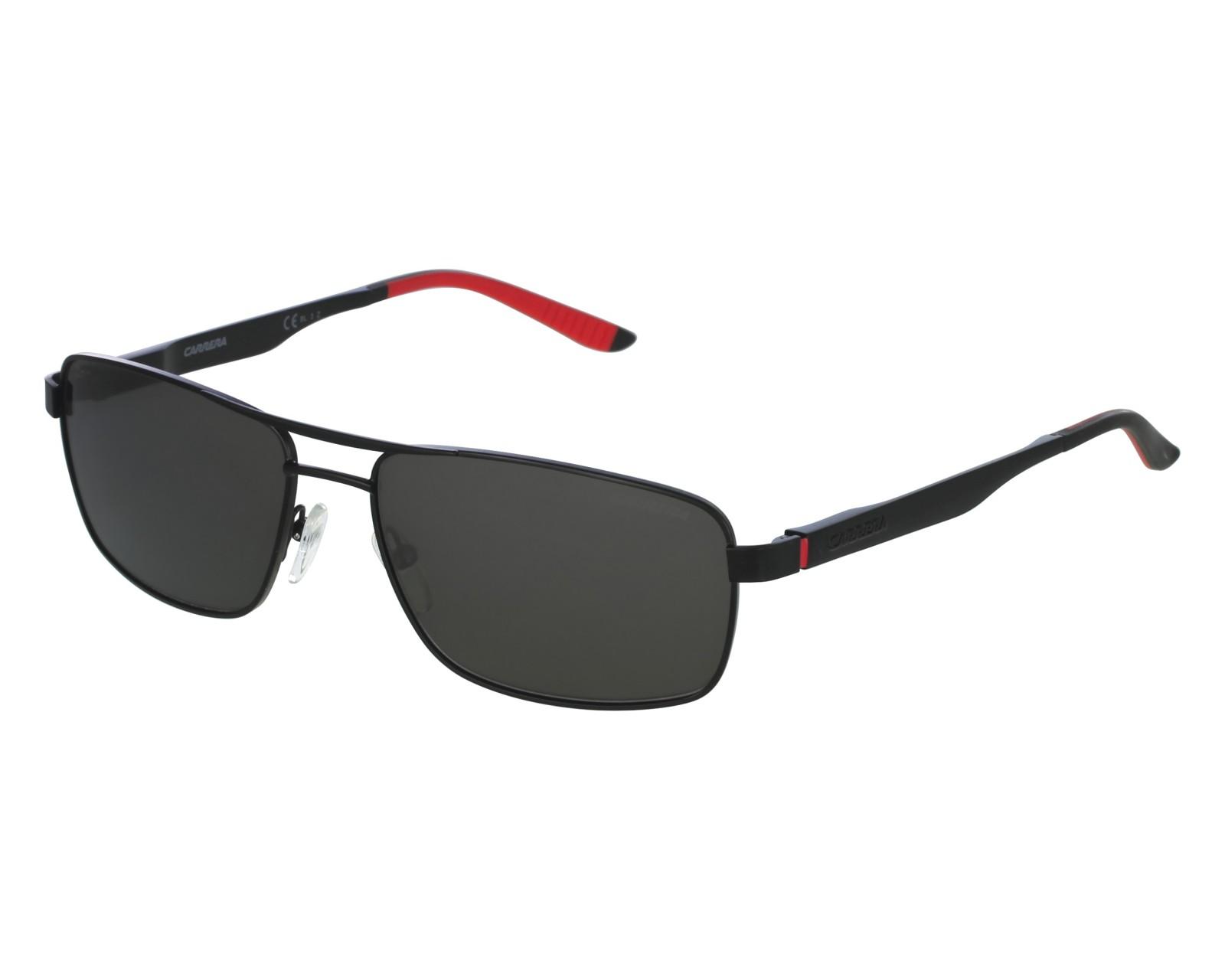 0c931fd347690 Sunglasses Carrera 8011-S 003 M9 - Black Red front view