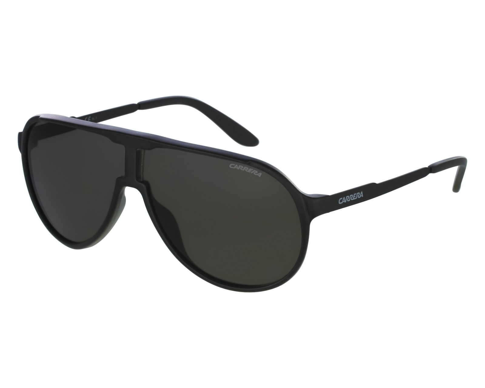 b64a66bf68a Sunglasses Carrera New-Champion GUY NR 62-8 Black front view
