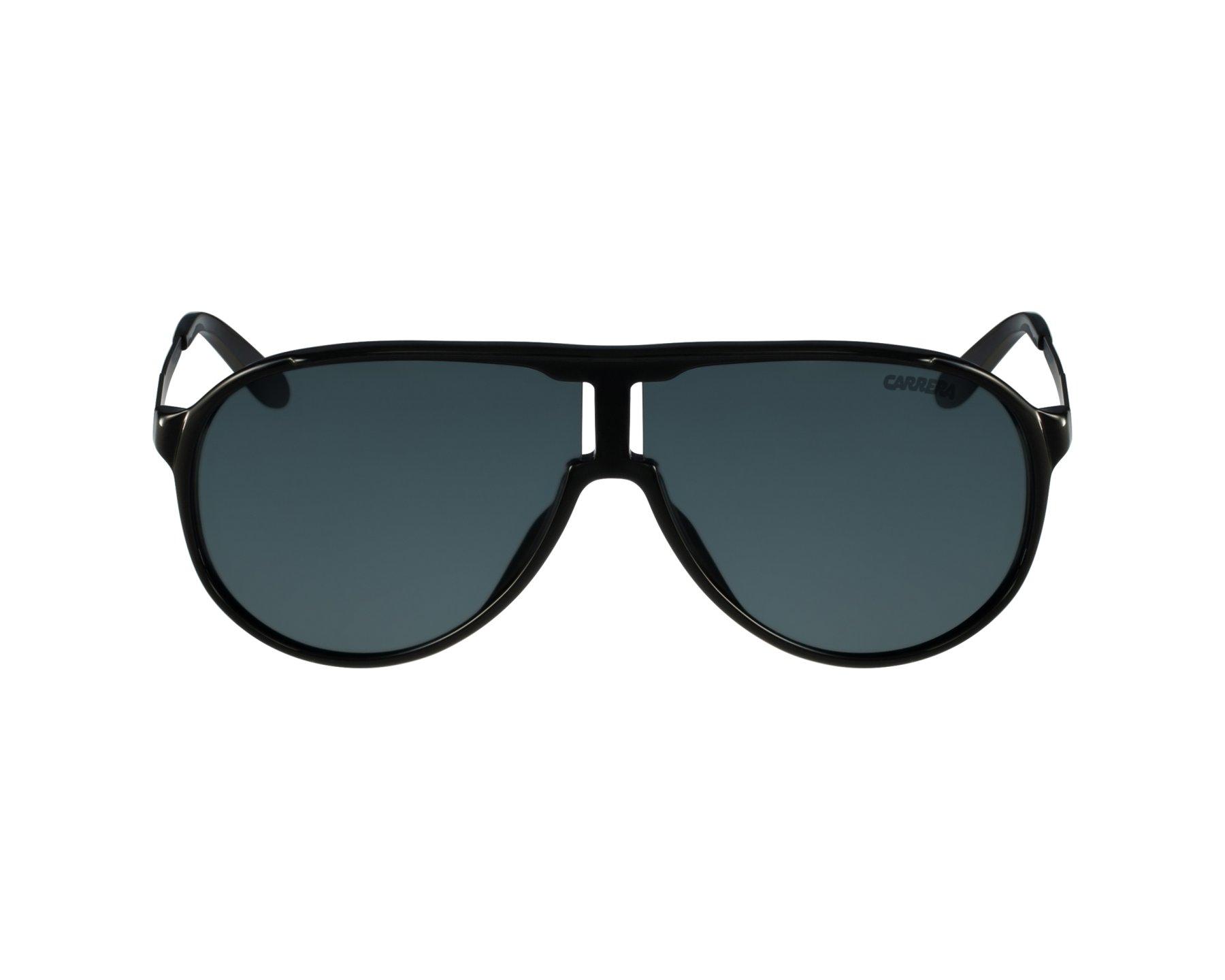 78c11c1ec92 Sunglasses Carrera New-Champion LB0 RA - Black Silver profile view