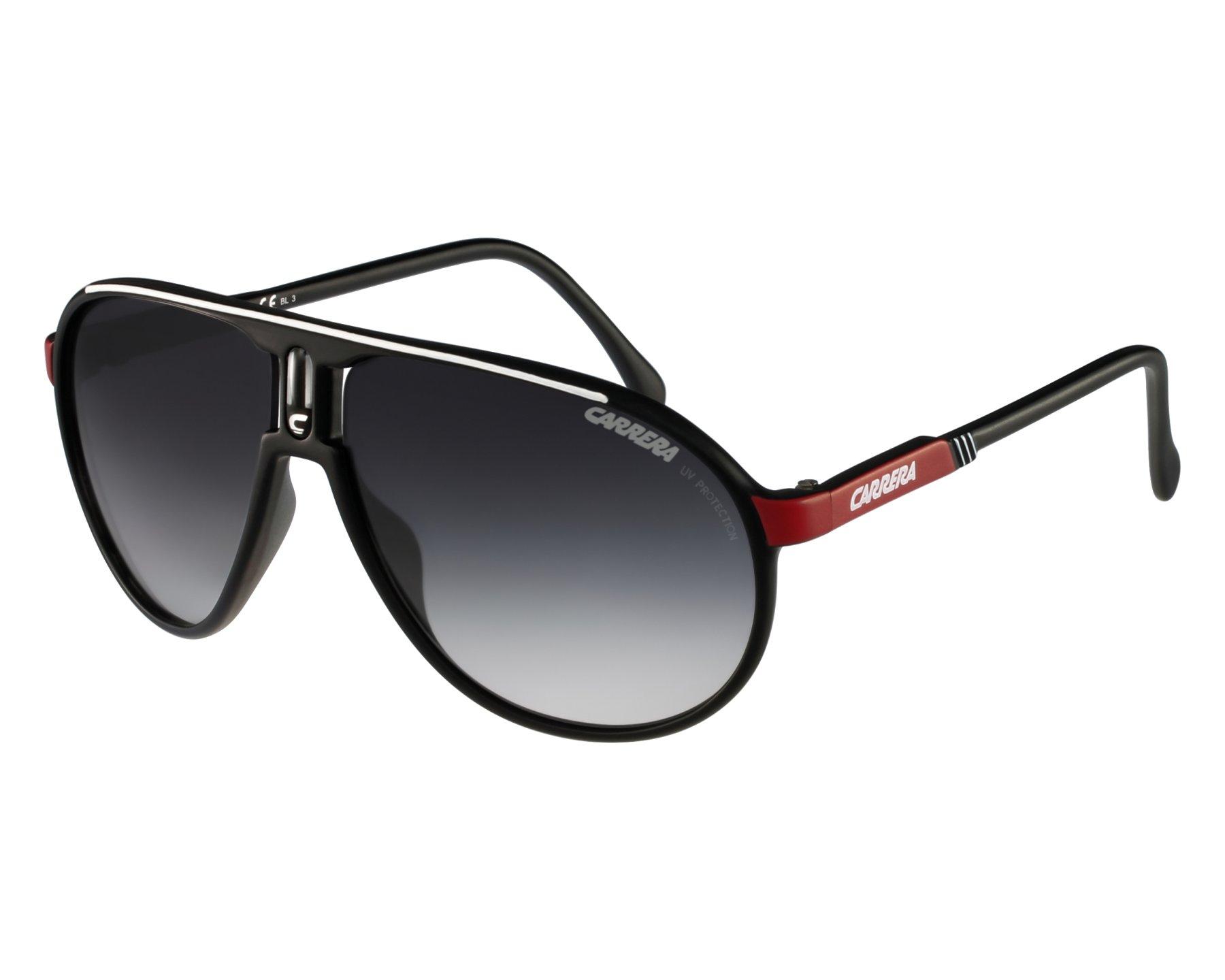 8fc1e1bc4991 Sunglasses Carrera Champion-G WSG/90 - Black Red front view