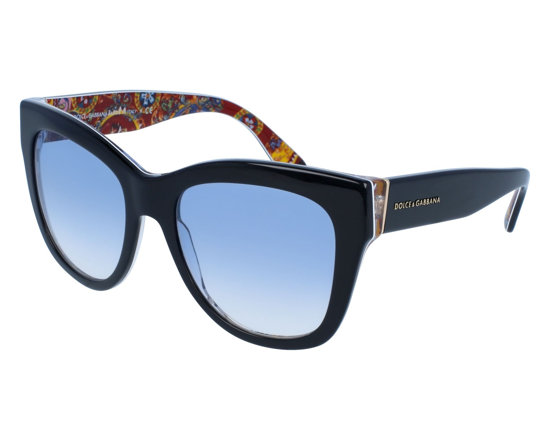 77e9e3ac5 thumbnail Sunglasses Dolce & Gabbana DG-4270 3033/19 - Black Red front view