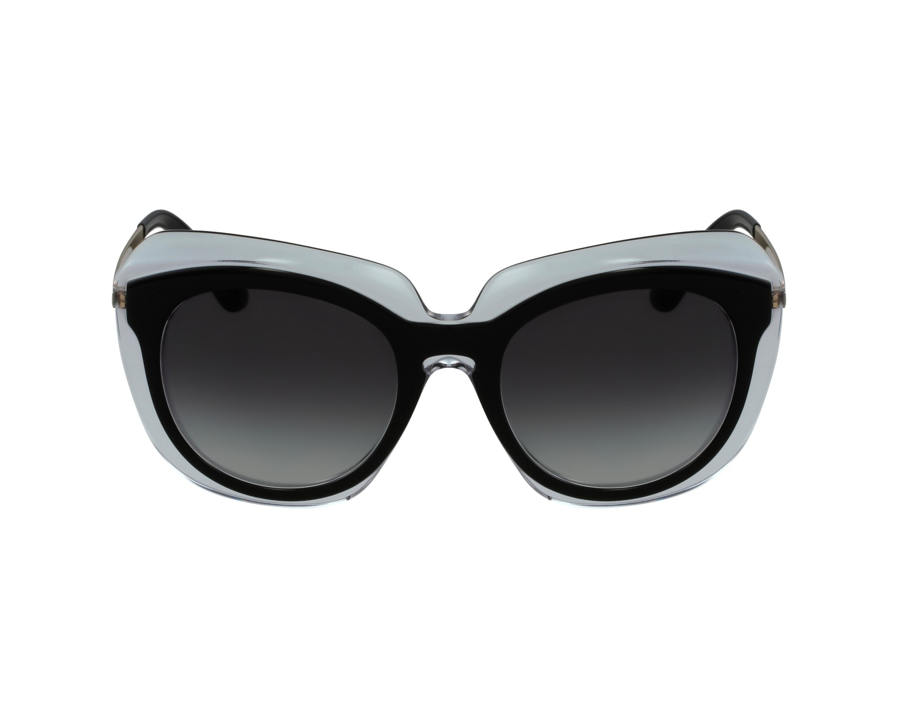 6be447e280 thumbnail Sunglasses Dolce & Gabbana DG-4282 675/8G - Black Crystal profile  view