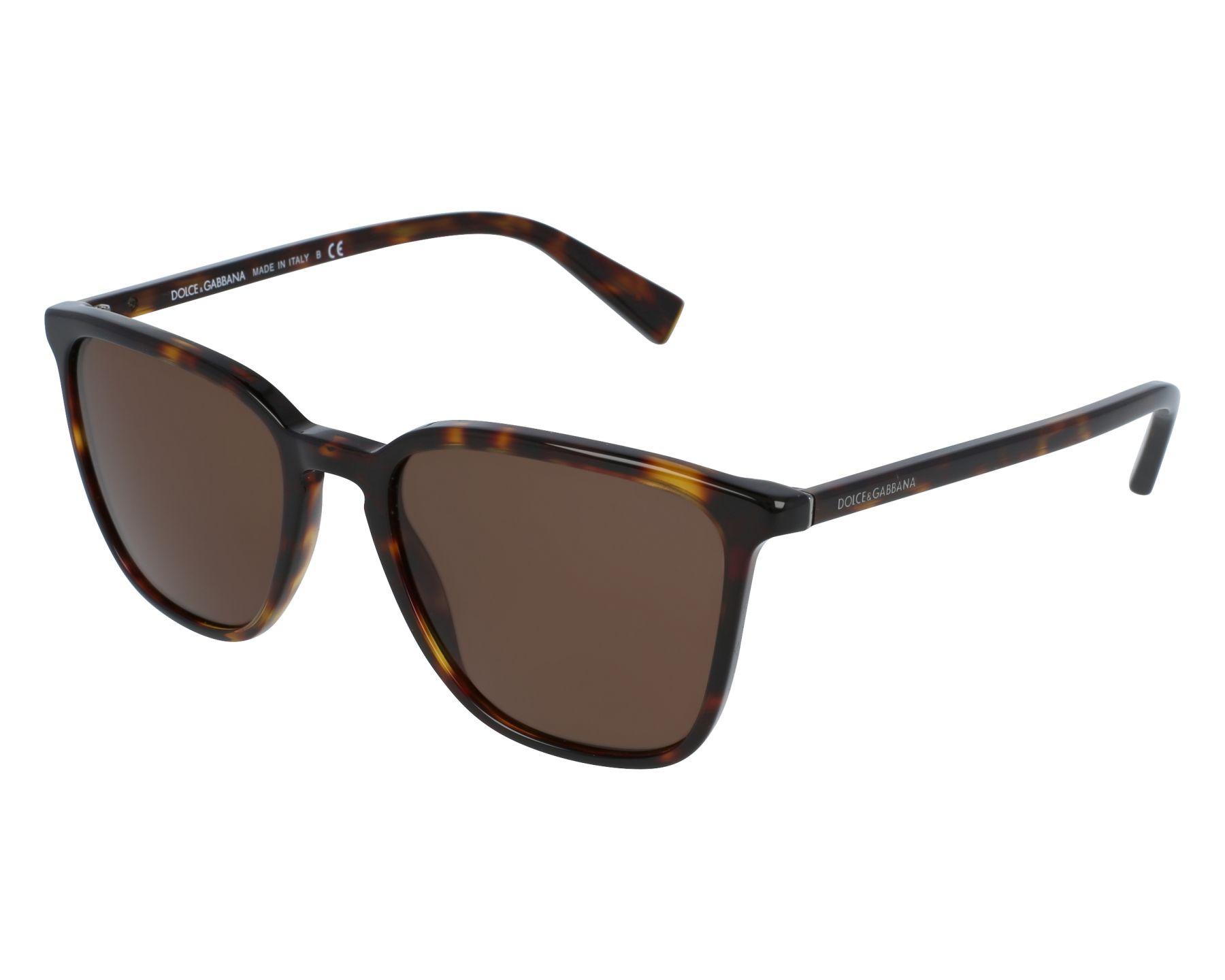 a9c8b6395ed Sunglasses Dolce   Gabbana DG-4301 502 73 53-19 Havana front view