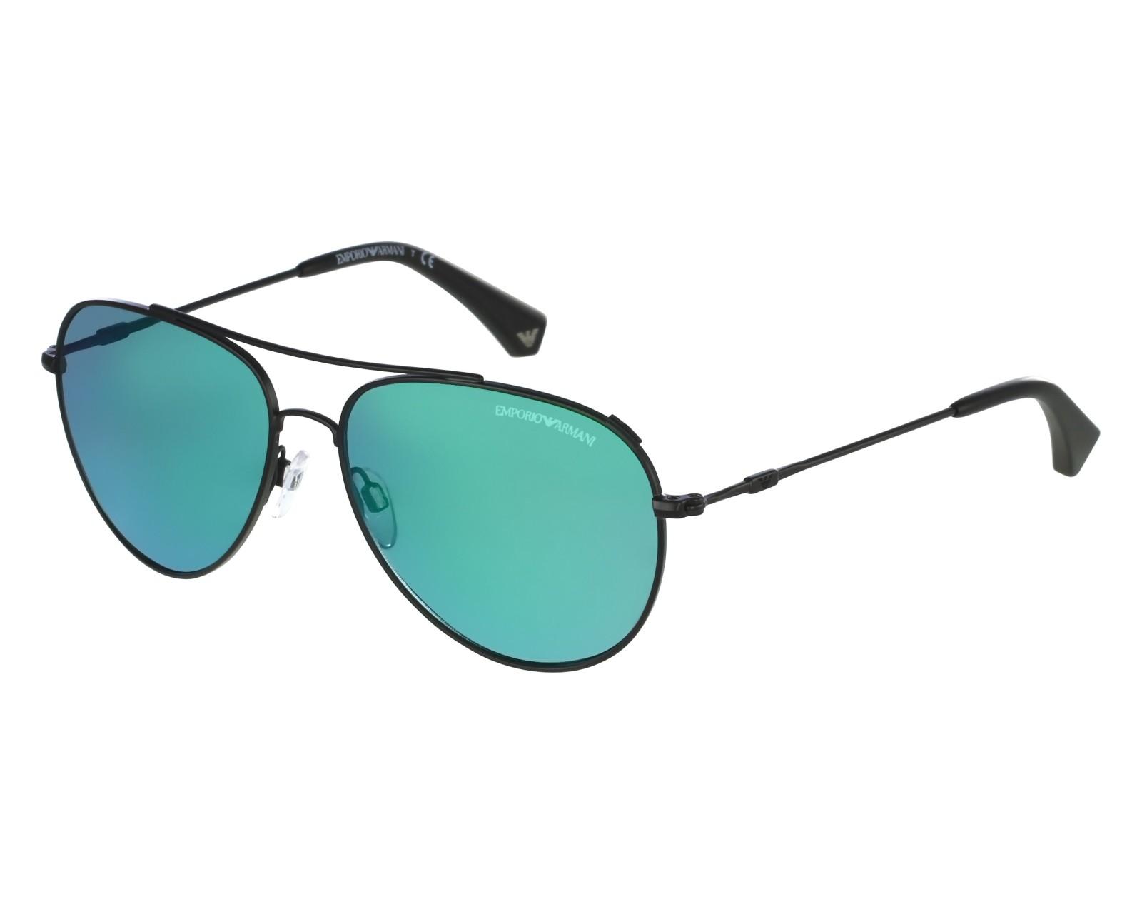 f4e0be47603 Sunglasses Emporio Armani EA-2010 3001 31 - Black front view