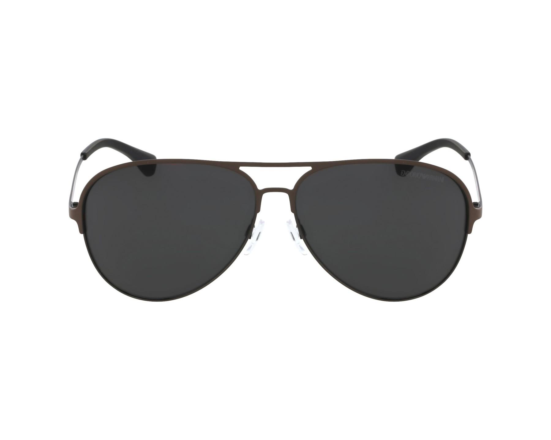 a966beeee4 thumbnail Sunglasses Emporio Armani EA-2032 3128 87 - Brown profile view