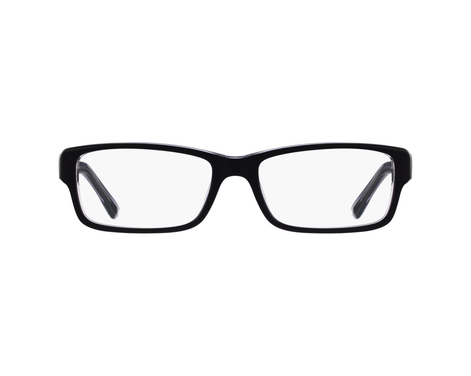 b13fca2f713 eyeglasses Ray-Ban RX-5169 2034 52-16 Black Crystal profile view