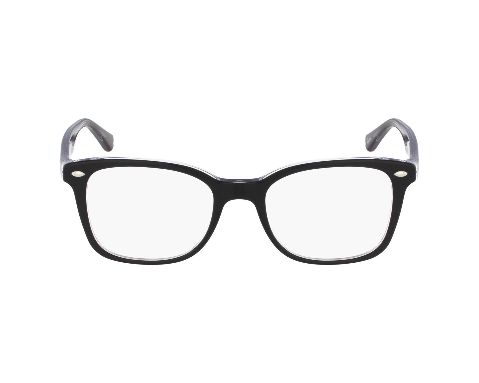 c5b0f766f85 eyeglasses Ray-Ban RX-5285 2034 - Black profile view