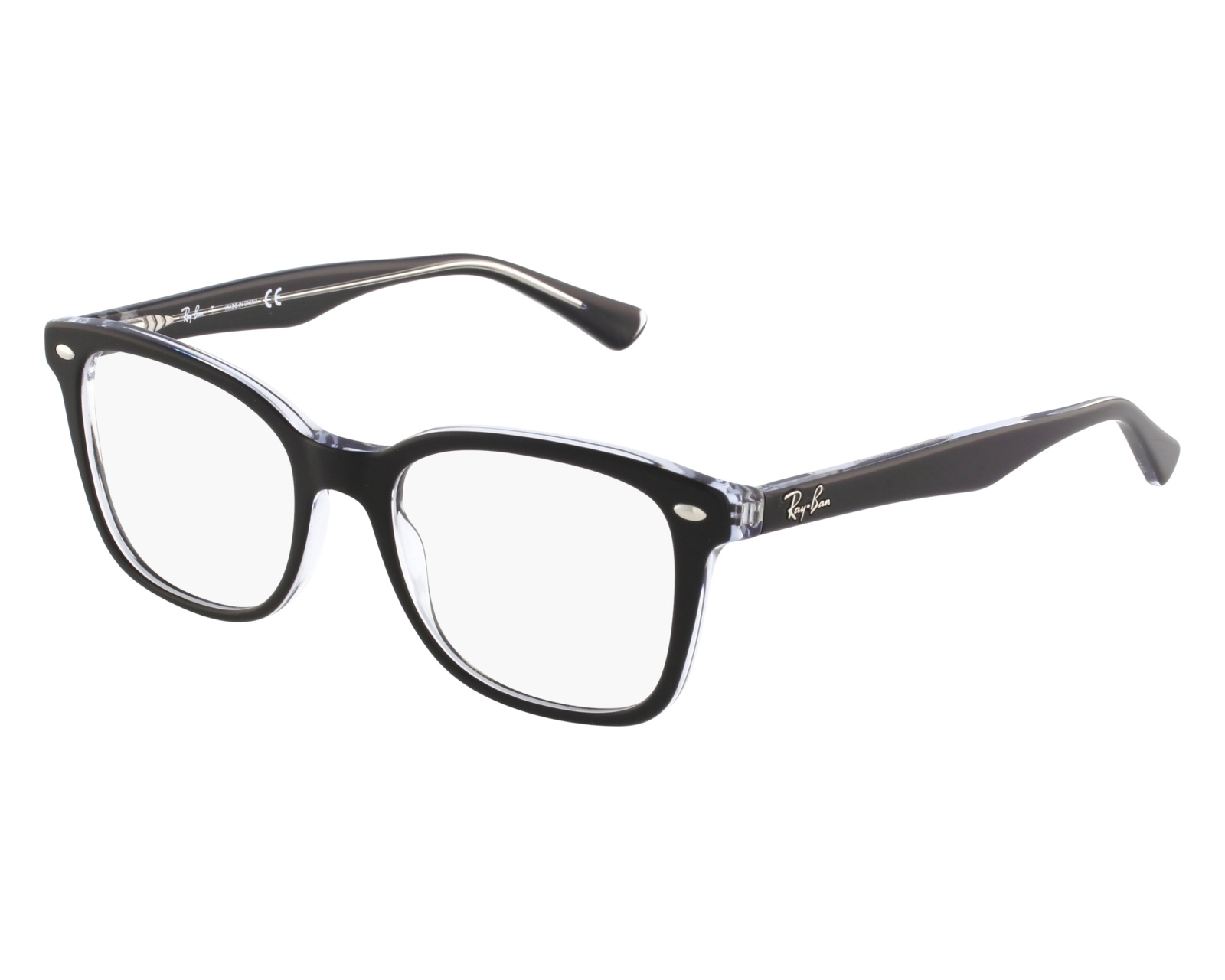 1bdac48a038 eyeglasses Ray-Ban RX-5285 2034 - Black front view