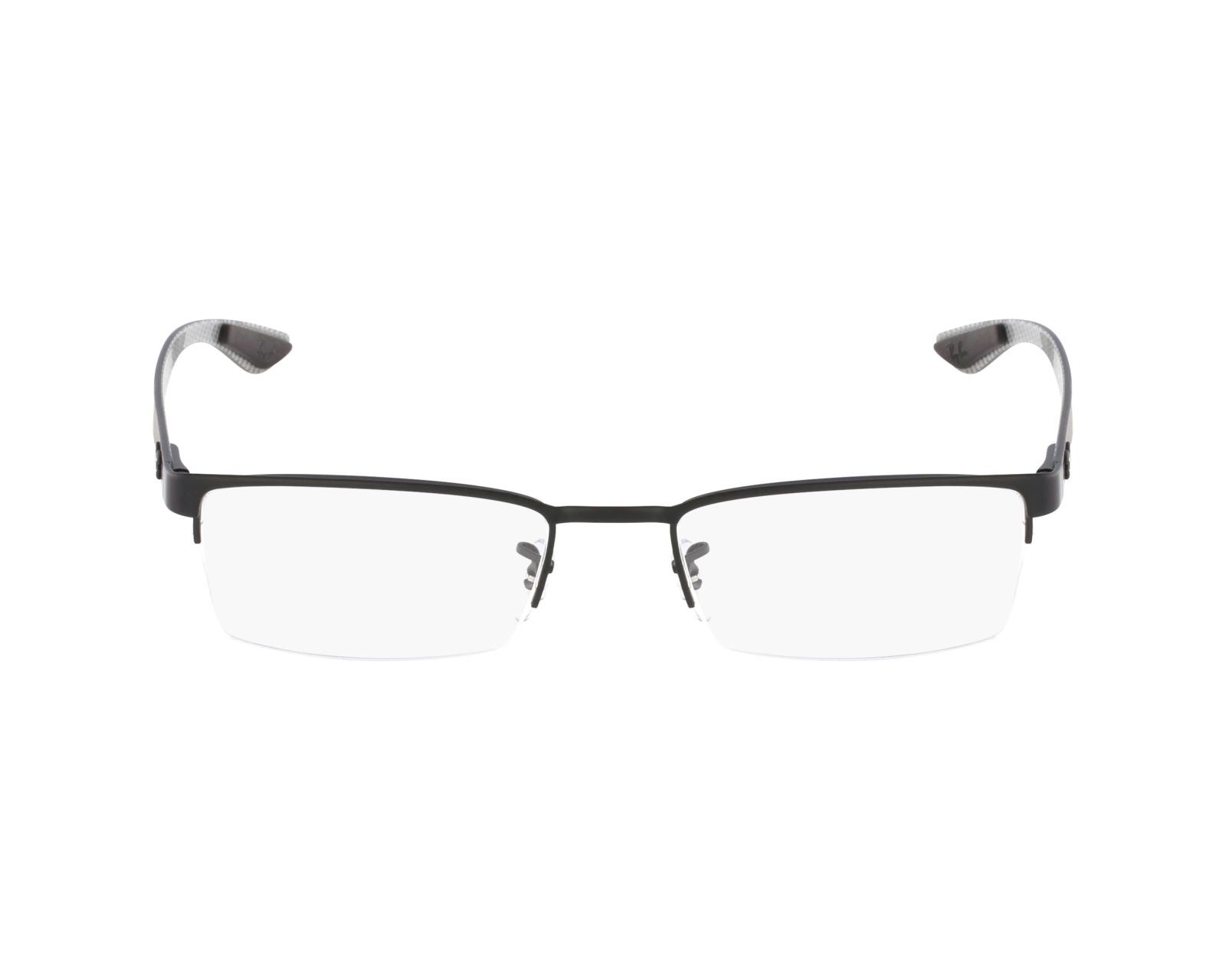 e51846e3249 thumbnail eyeglasses Ray-Ban RX-8412 2503 52-17 Black profile view