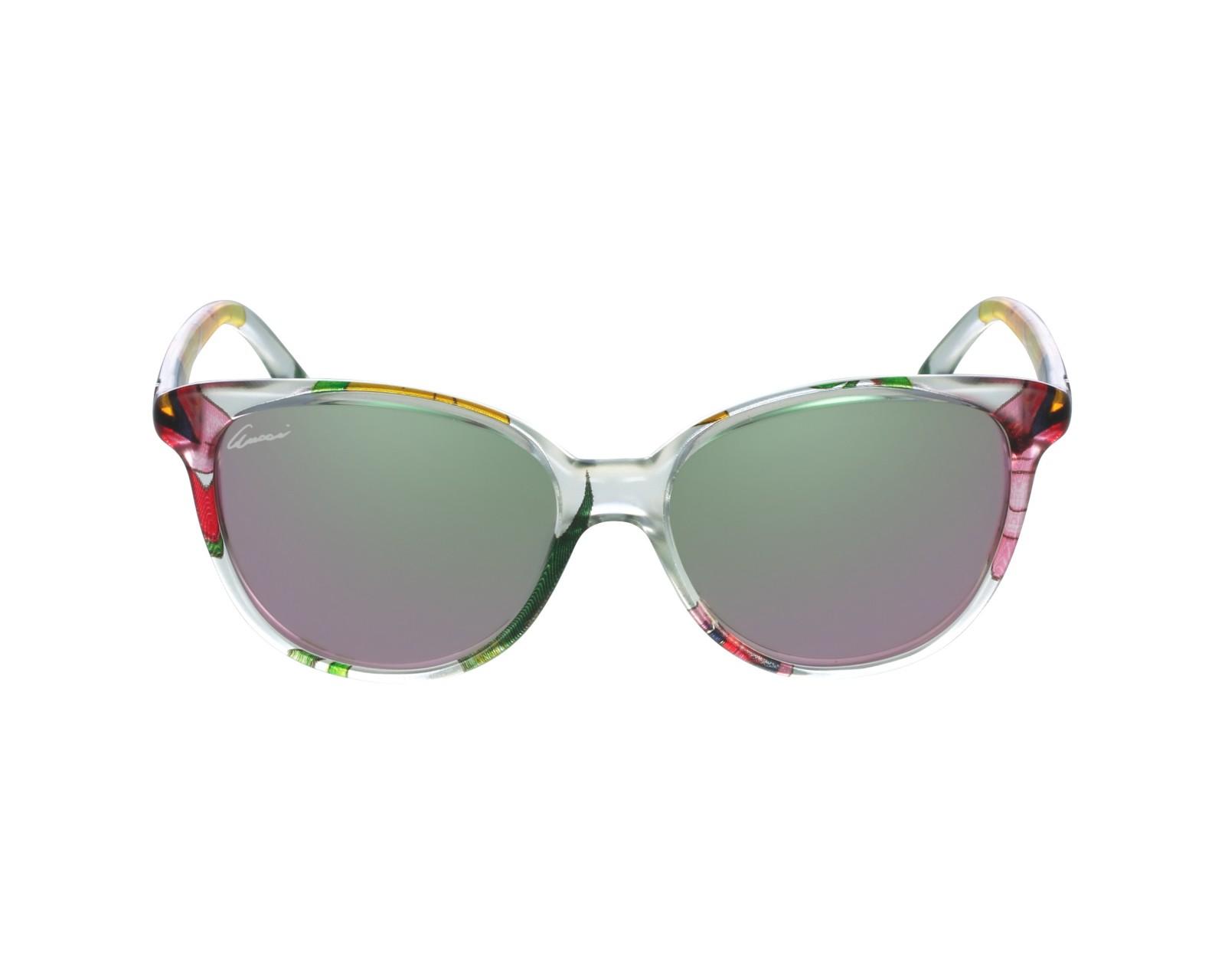 4a33981df5 thumbnail Sunglasses Gucci GG-3633-NS ZE5 3E - Crystal profile view