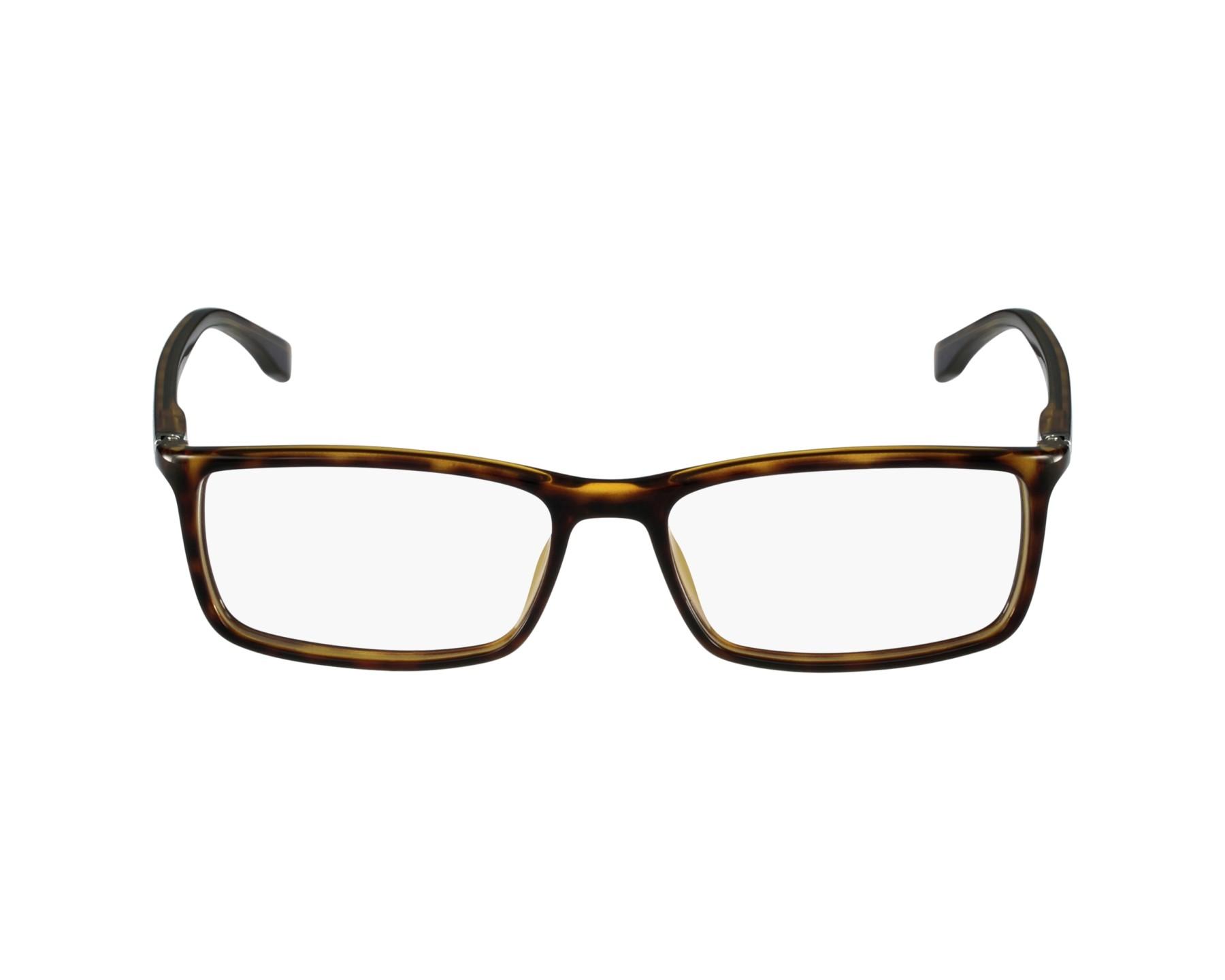bf87a6b0d5 eyeglasses Hugo Boss BOSS-0680 086 - Havana profile view