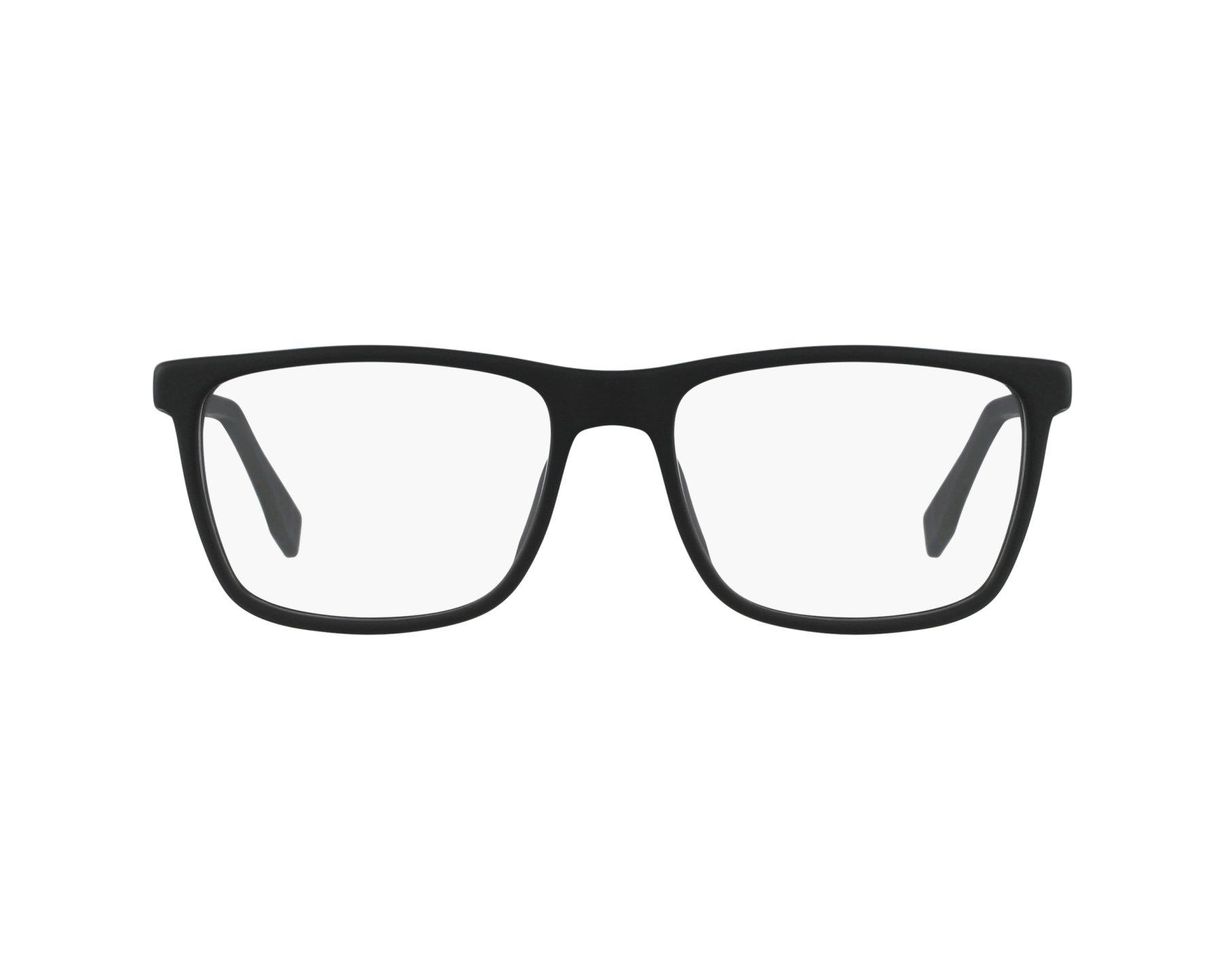 fa081f824f eyeglasses Hugo Boss BOSS-0733 KD1 54-17 Black Carbon profile view