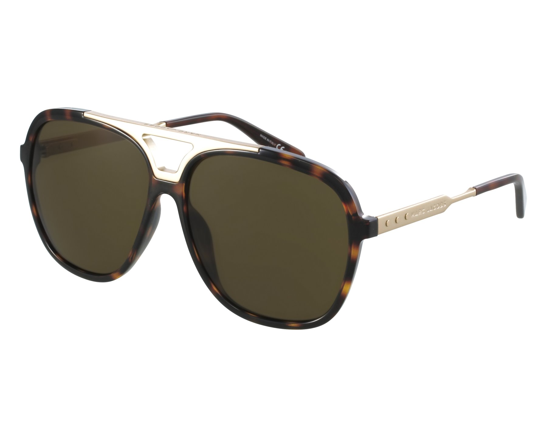 1b21dbf92160 Sunglasses Marc Jacobs MJ-618-S 147 EC 59-14 Havana Gold