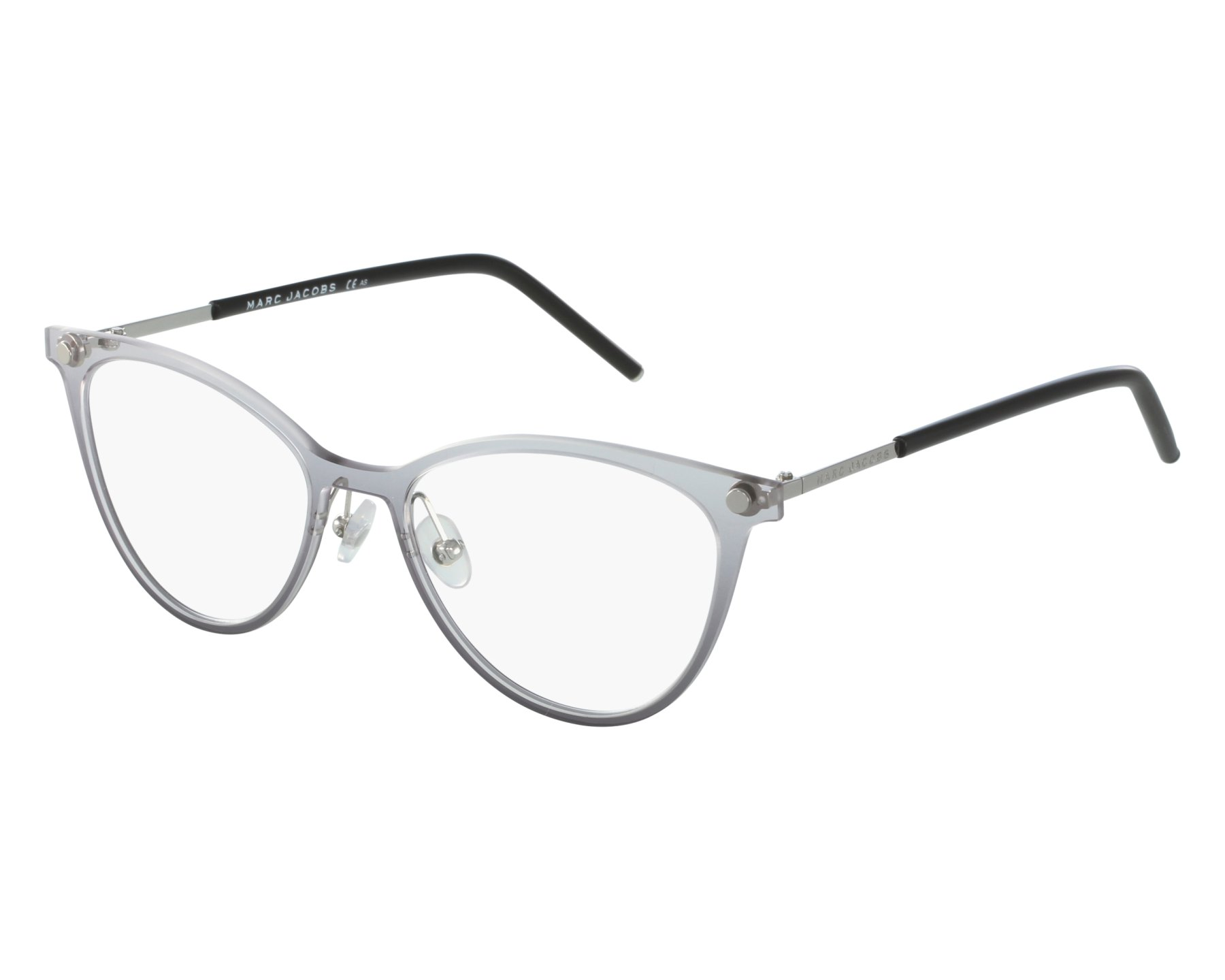aaa3ca4a888 eyeglasses Marc Jacobs MARC-32 732 - Grey Black front view