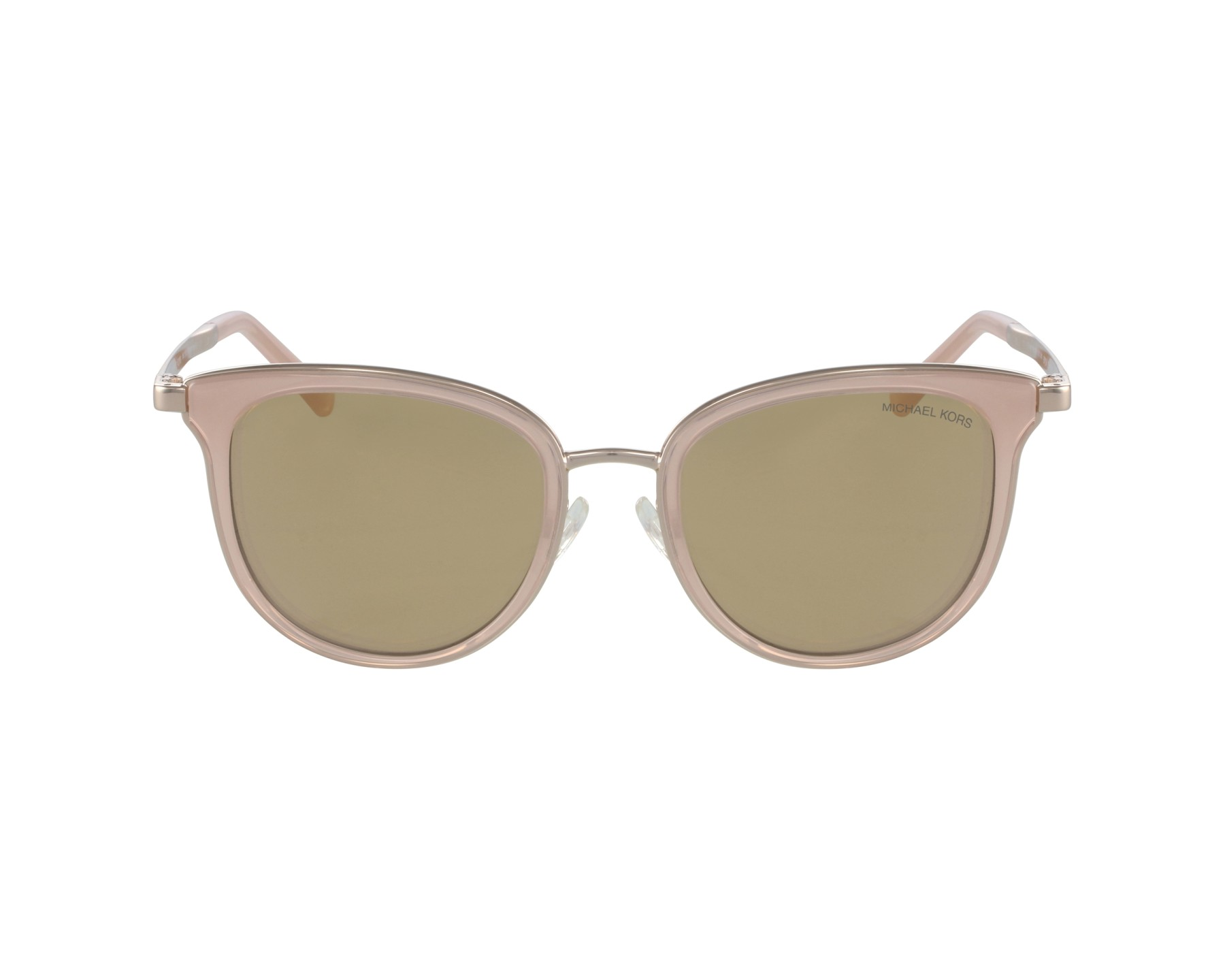 75a4bbdbe8 Sunglasses Michael Kors MK-1010 1103 R1 - Pink Rose gold profile view