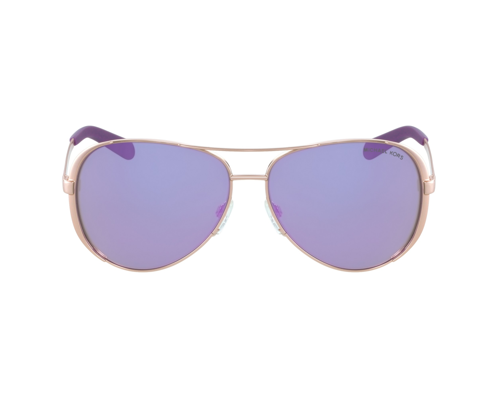 0ec2c3cac09e Sunglasses Michael Kors MK-5004 10034V - Gold profile view
