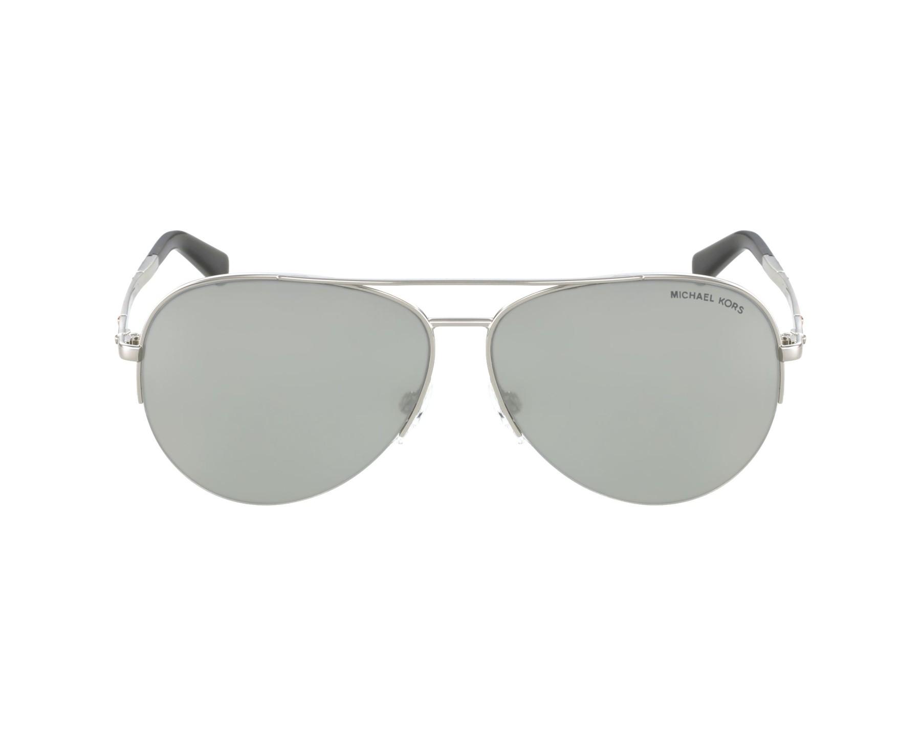 c3548912bcc5b Sunglasses Michael Kors MK-1001 100145 - Silver profile view