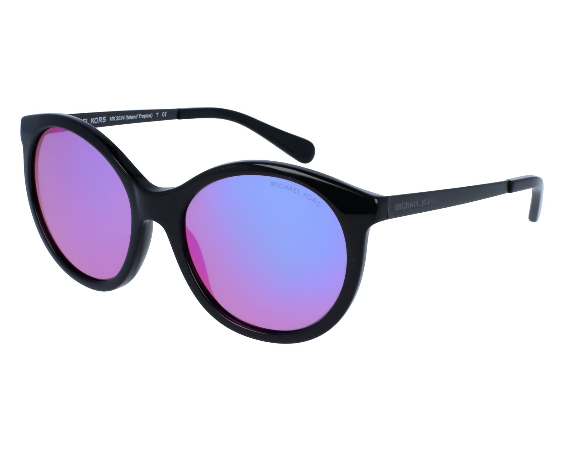 02fc895c5c Sunglasses Michael Kors MK-2034 32034X 55-18 Black Lila front view