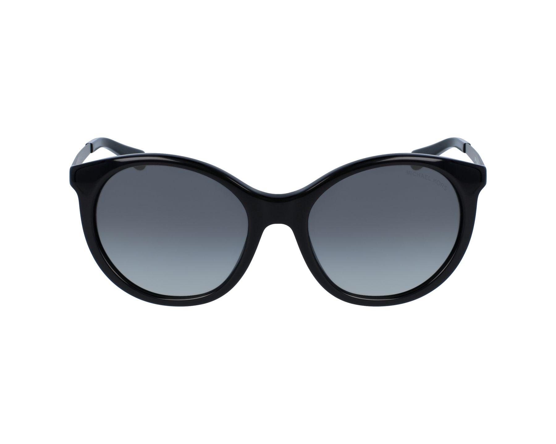 c85a5c6e57 Sunglasses Michael Kors MK-2034 320411 55-18 Black Silver profile view