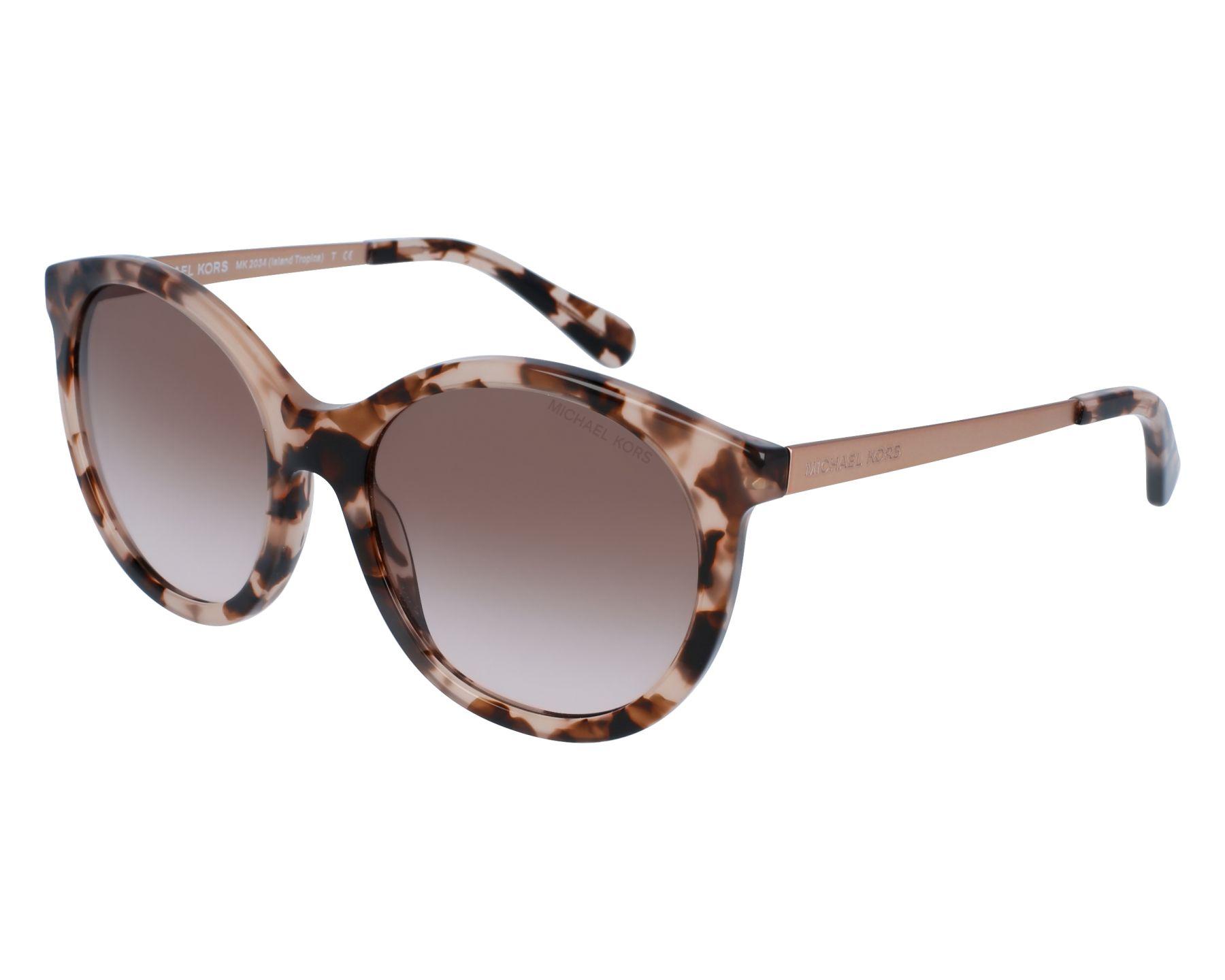 c6fd663c72 Sunglasses Michael Kors MK-2034 320513 55-18 Brown Lila front view