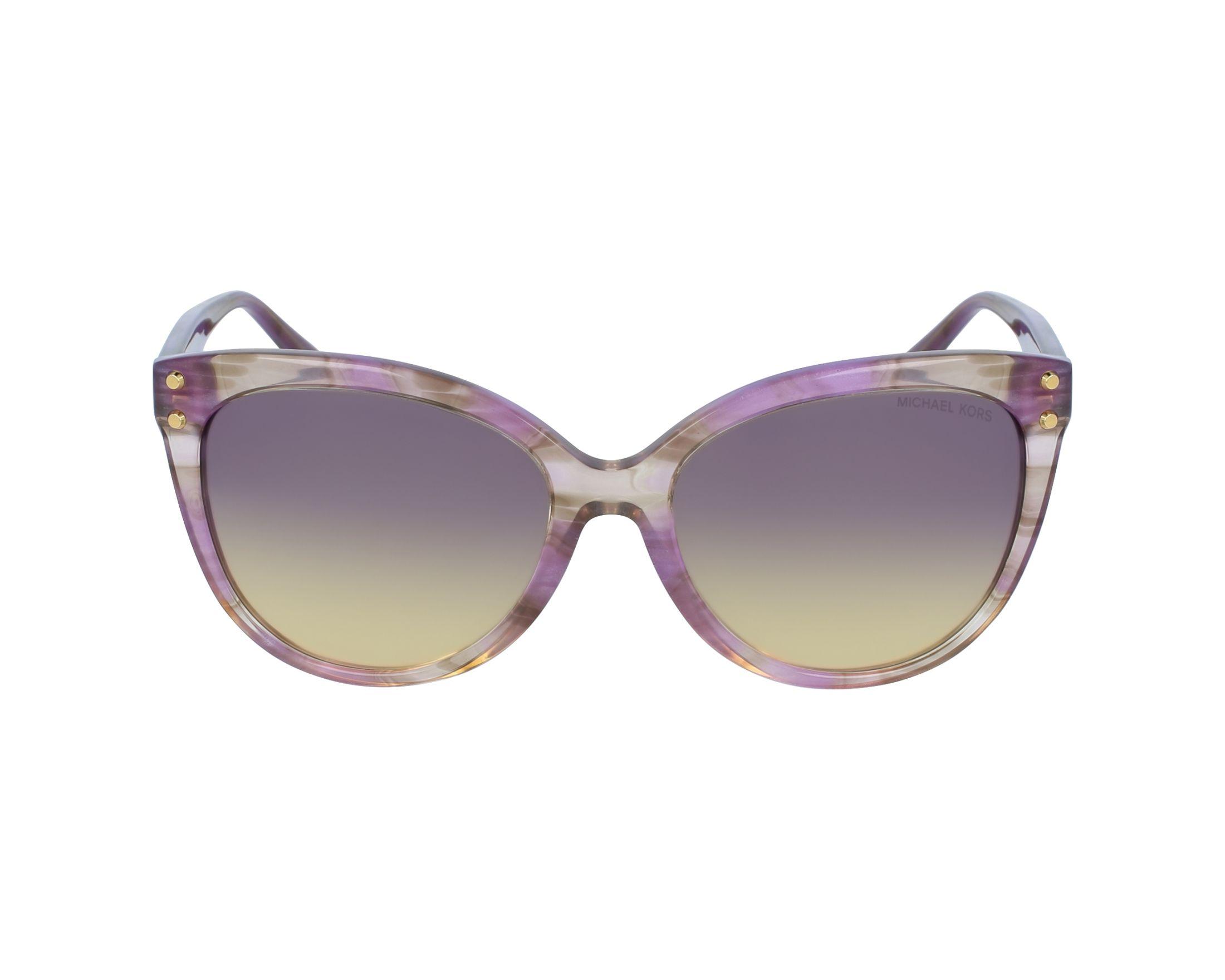 13e45d14c5 Sunglasses Michael Kors MK-2045 323370 55-16 Purple profile view