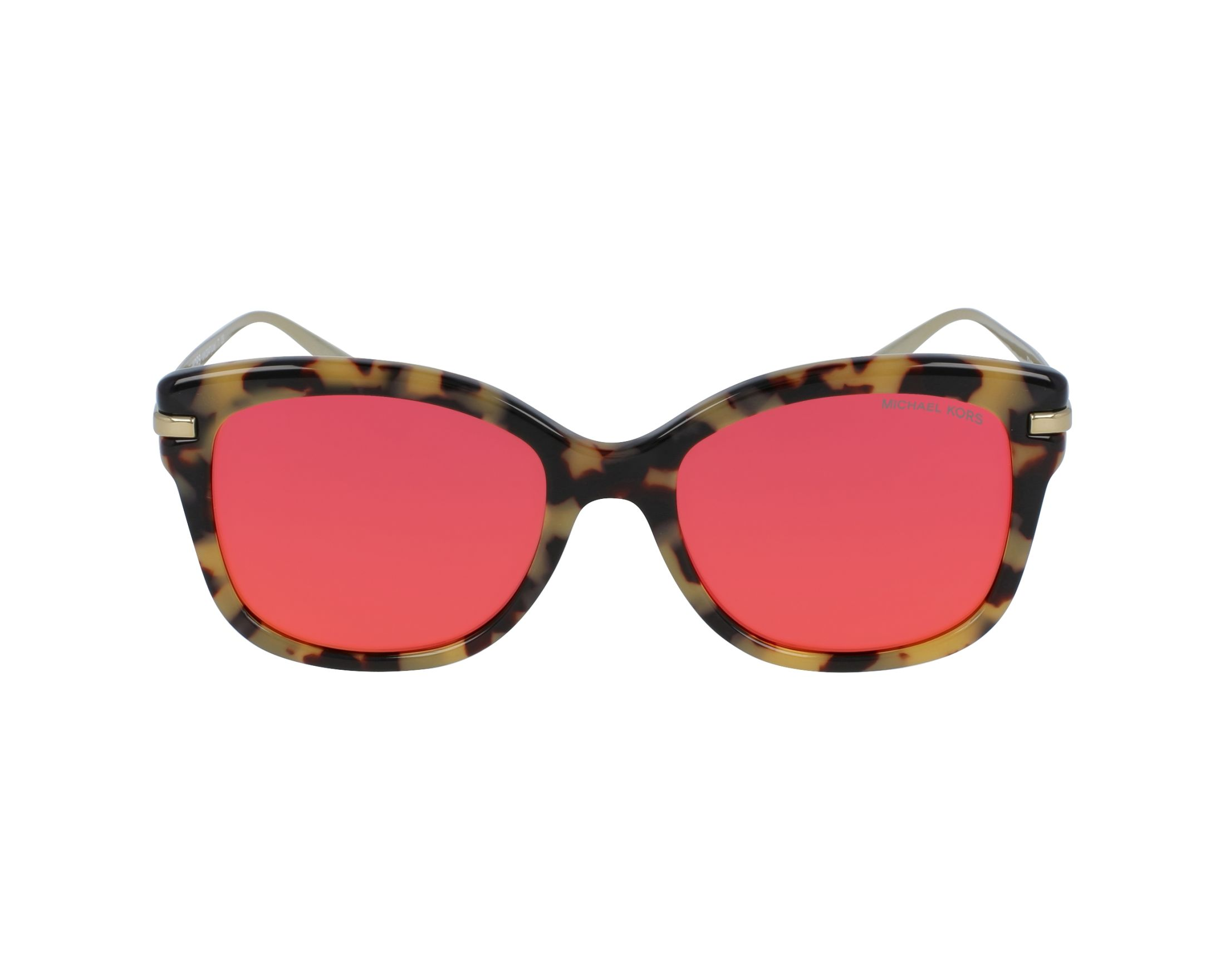 e70efe52d2 Sunglasses Michael Kors MK-2047 32446Q 53-18 Havana Gold profile view