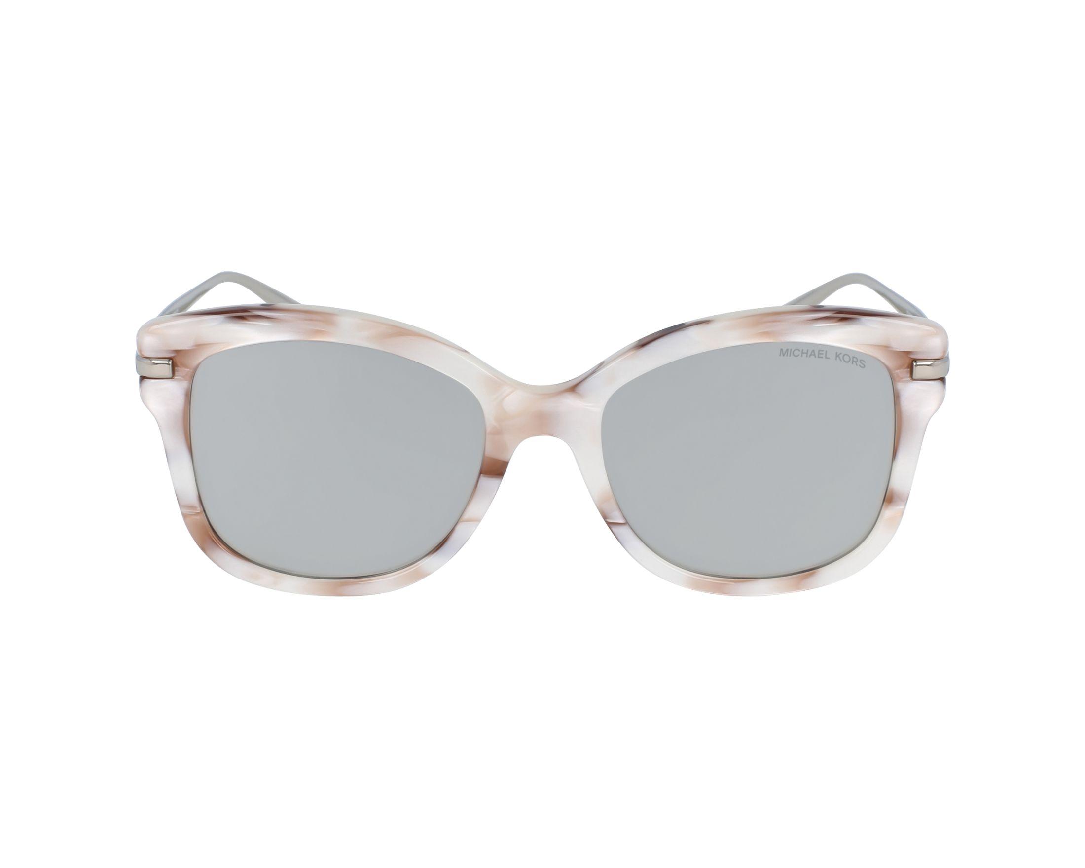 be438e677e Sunglasses Michael Kors MK-2047 32486G 53-18 White Brown profile view
