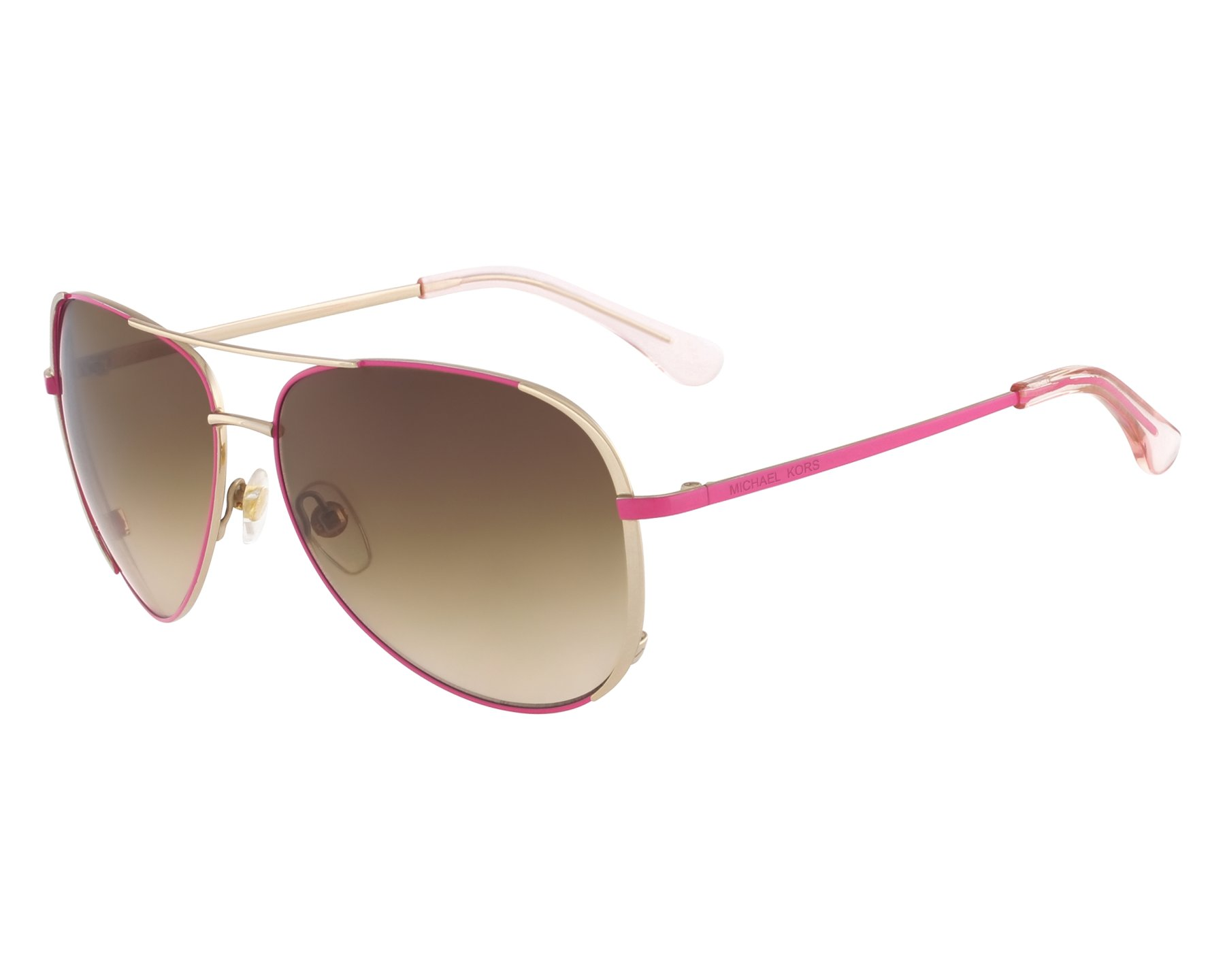 e4a5cda87161 Sunglasses Michael Kors M-2045-S 628 - Gold Pink front view