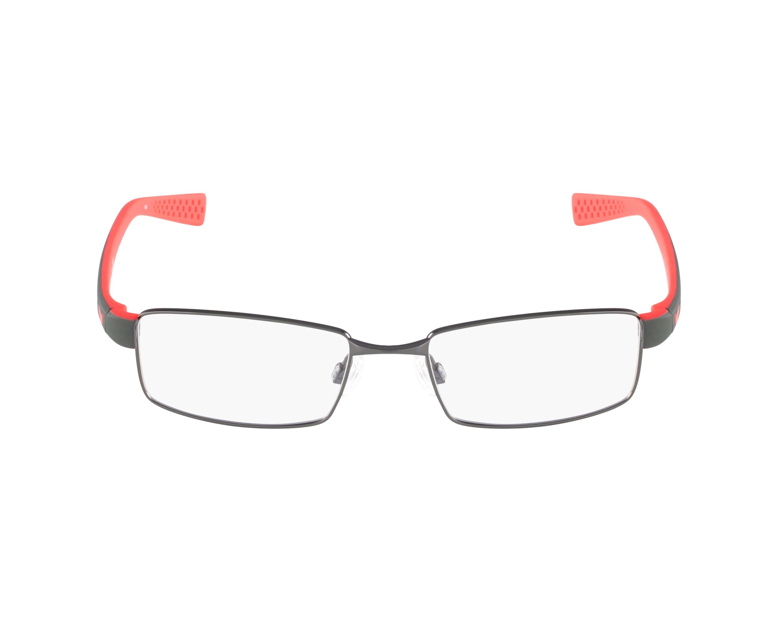 557e4d82fc7 eyeglasses Nike 8162 078 - Gun Red profile view