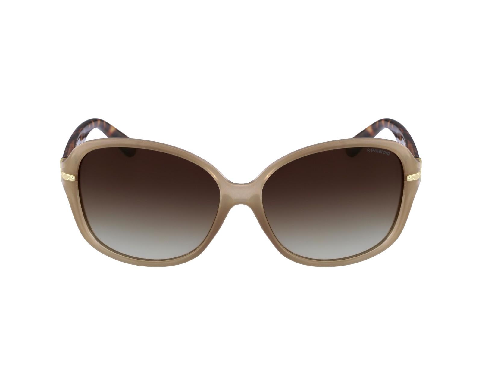 e977207f7e8813 Sunglasses Polaroid P-8419 10A 58-15 Beige profile view