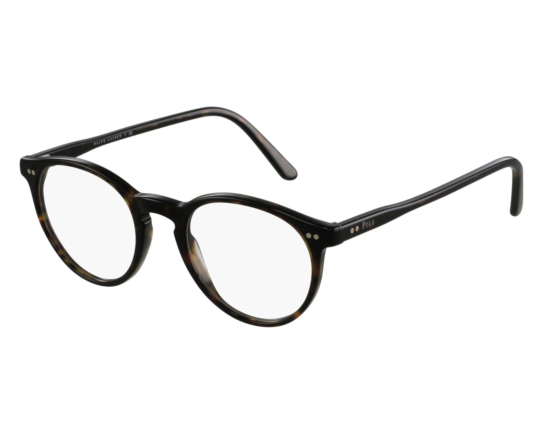 ae4ce94d1e eyeglasses Polo Ralph Lauren PH-2083 5003 48-20 Havana front view