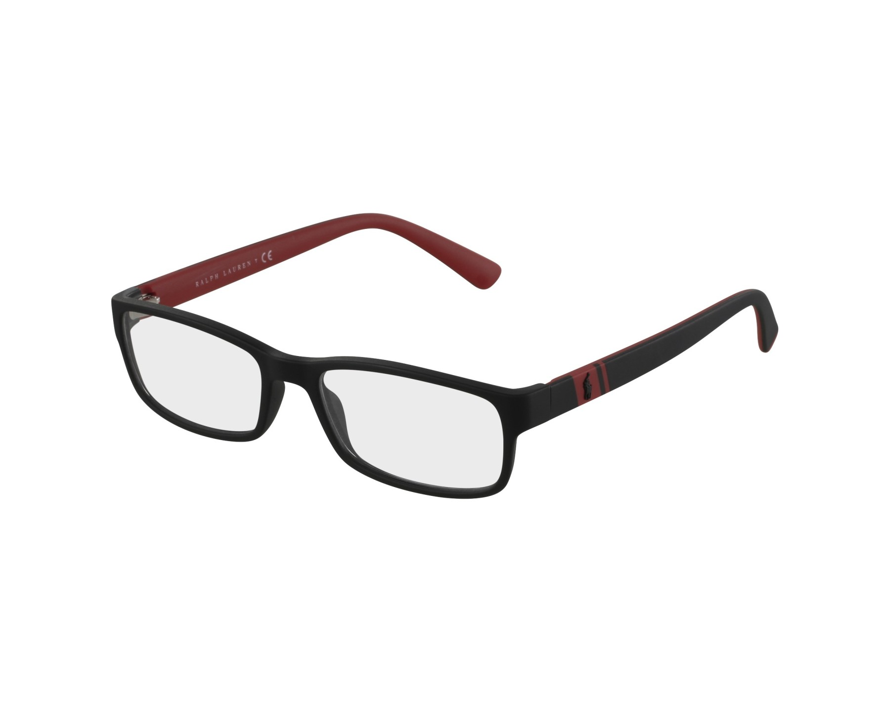 f4dcdfcd60e eyeglasses Polo Ralph Lauren PH-2154 5247 54-17 Grey Red front view