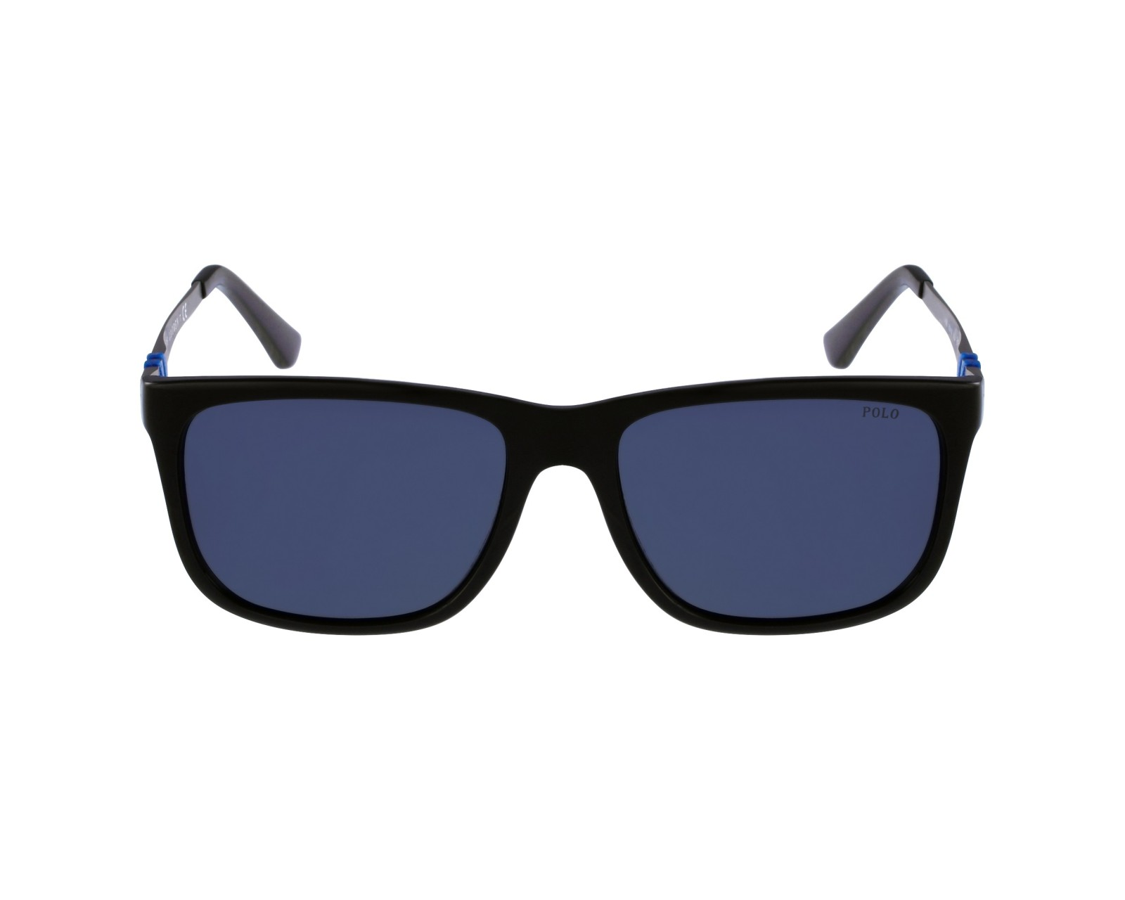 1648b16577d5 Sunglasses Polo Ralph Lauren PH-4088 5001/87 55-17 Black Silver profile
