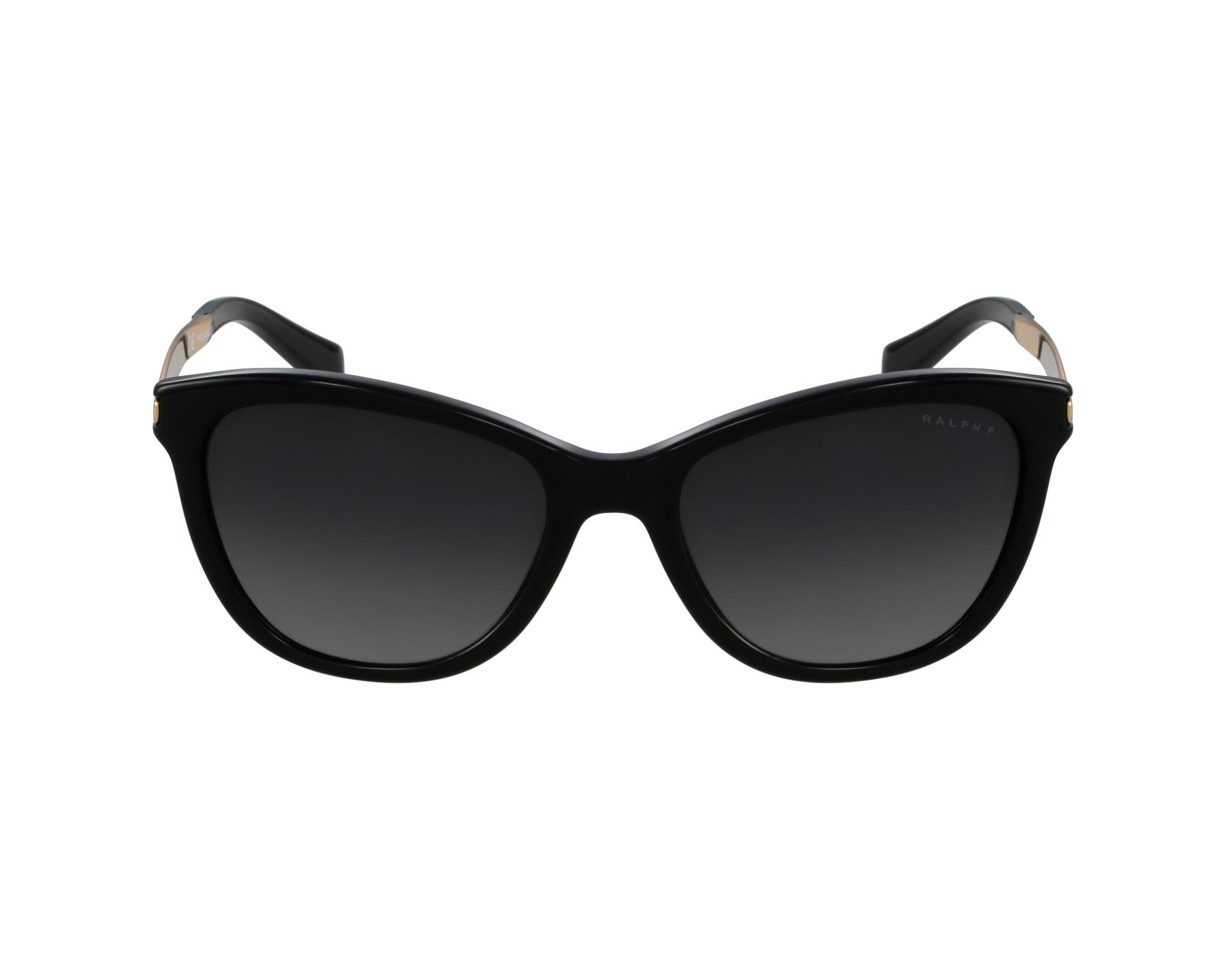 19f29358fa Sunglasses Ralph Lauren RA-5201 1265 T3 54-17 Black Gold profile view