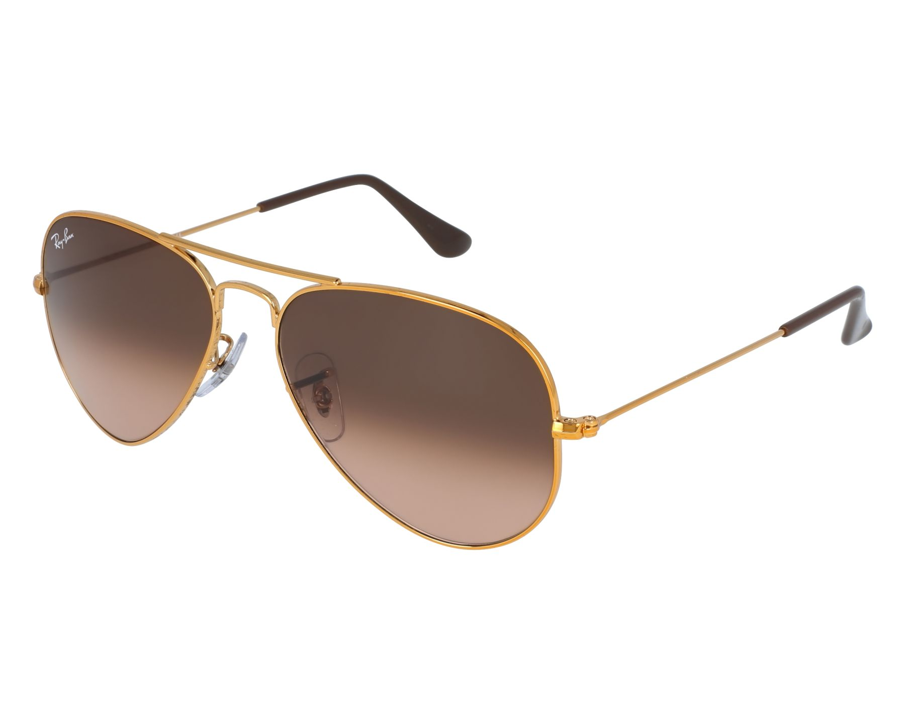 e183c112b1 Sunglasses Ray-Ban RB-3025 9001A5 55-14 Gold front view