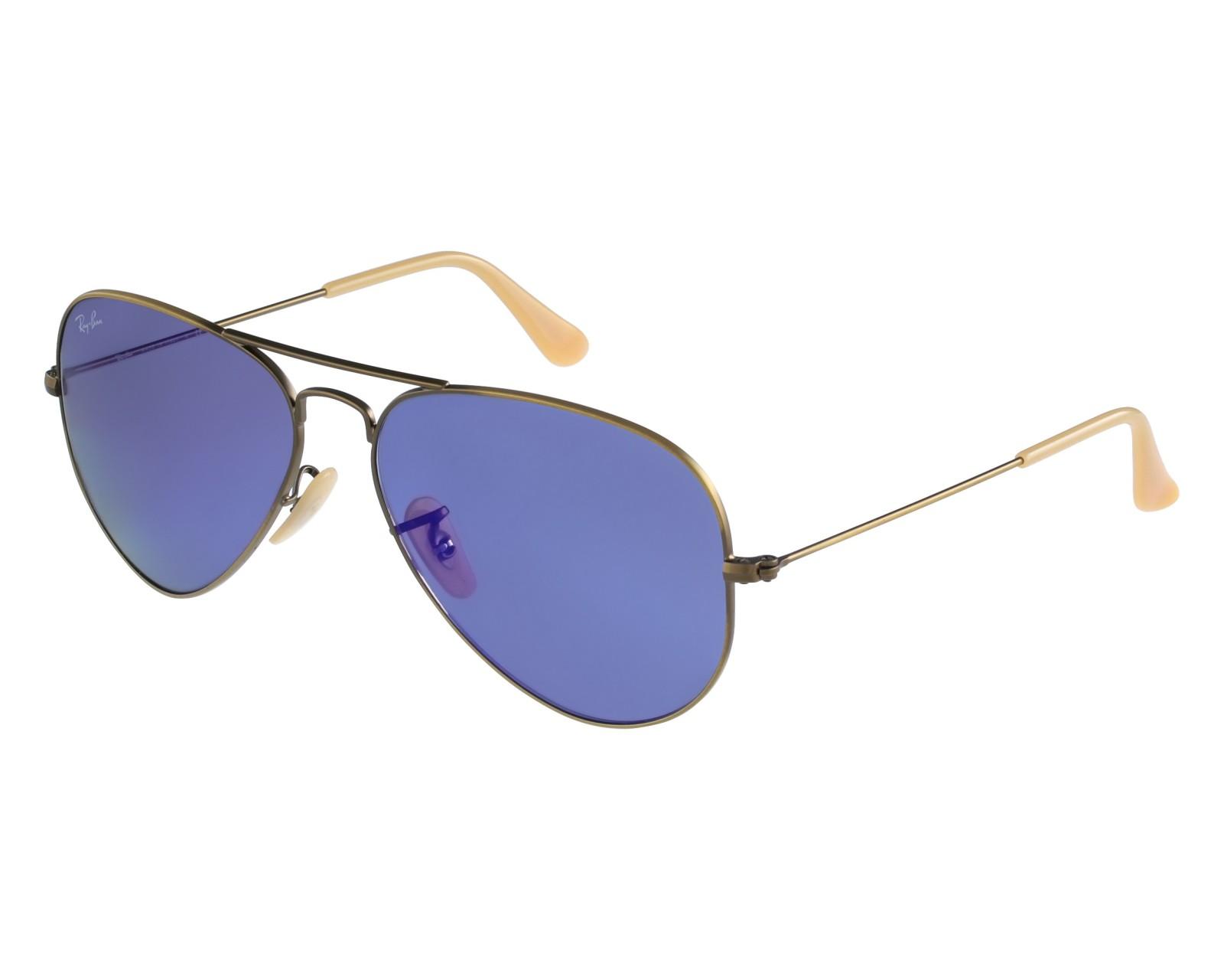 Sunglasses Ray-Ban RB-3025 167 68 58-14 Bronze Beige front 995bea39393e