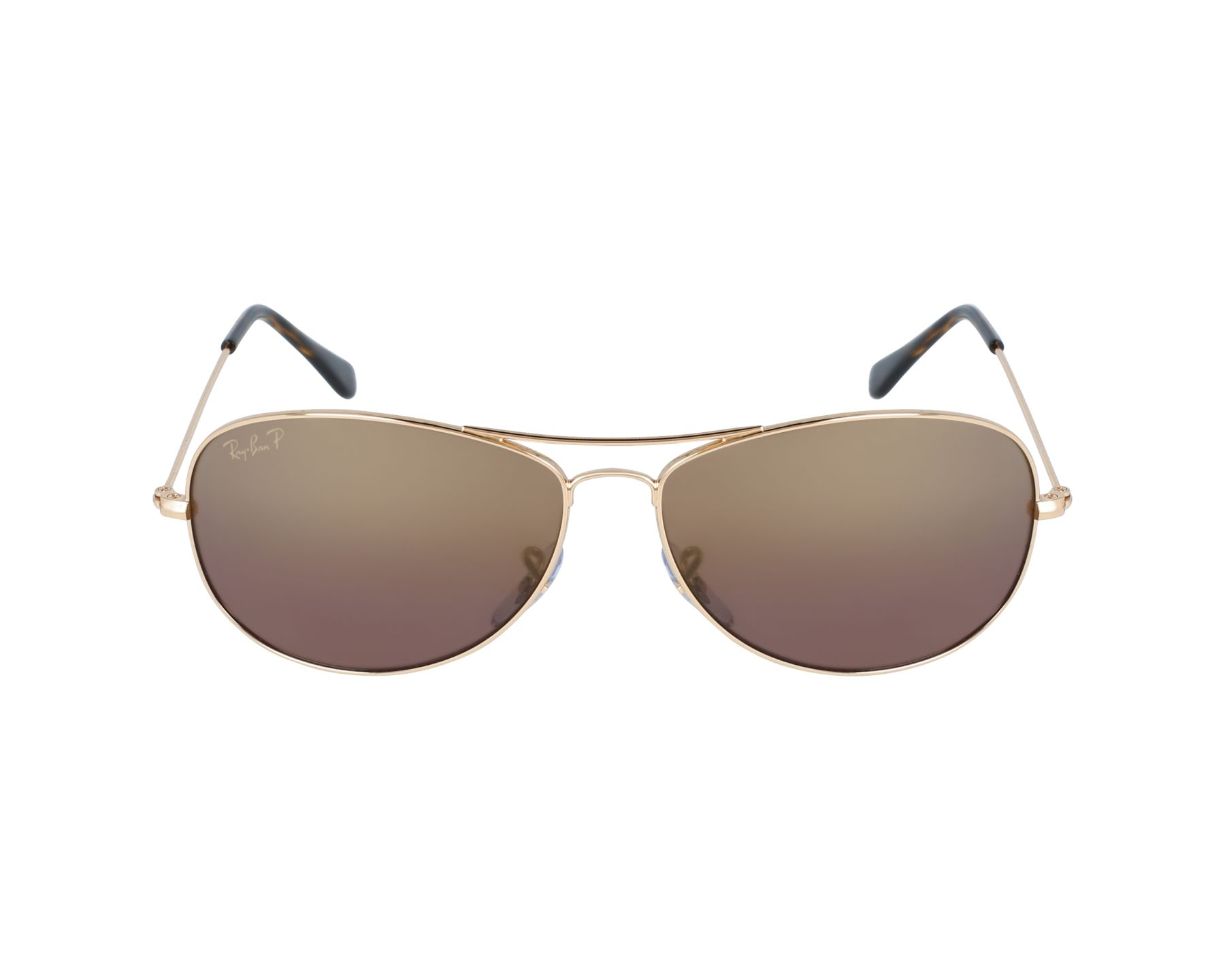 0ed36a5252 Sunglasses Ray-Ban RB-3562 001 6B 59-14 Gold profile view