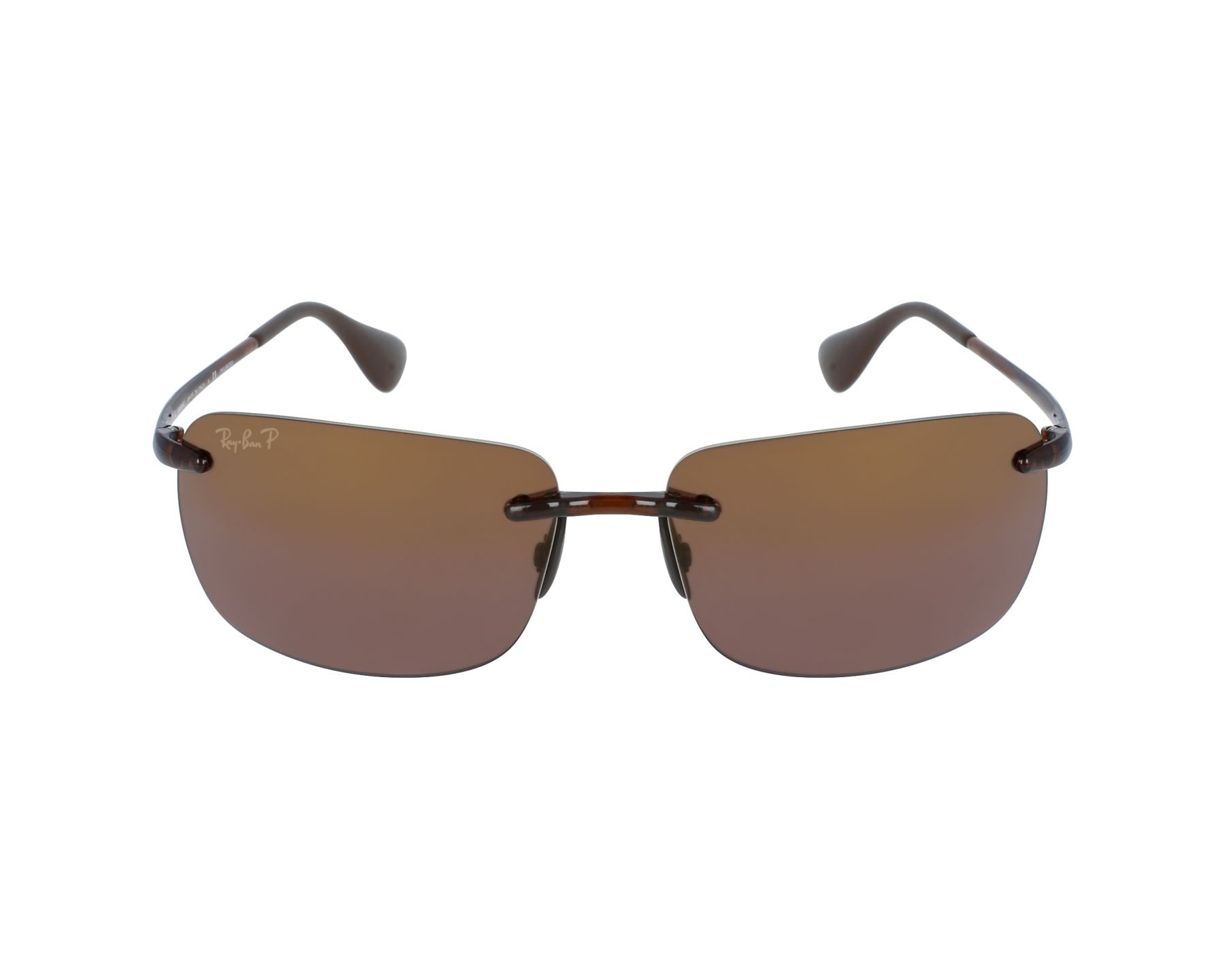 d04593fc91 Sunglasses Ray-Ban RB-4255 604 6B 60-15 Brown profile view