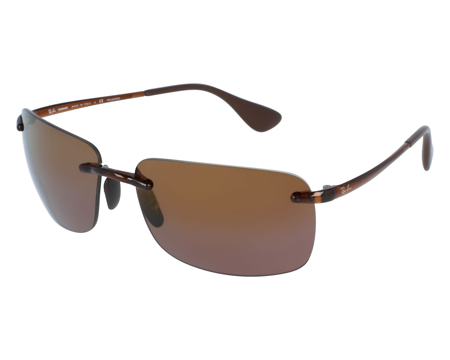 d3e09ba1a96 Sunglasses Ray-Ban RB-4255 604 6B 60-15 Brown front view