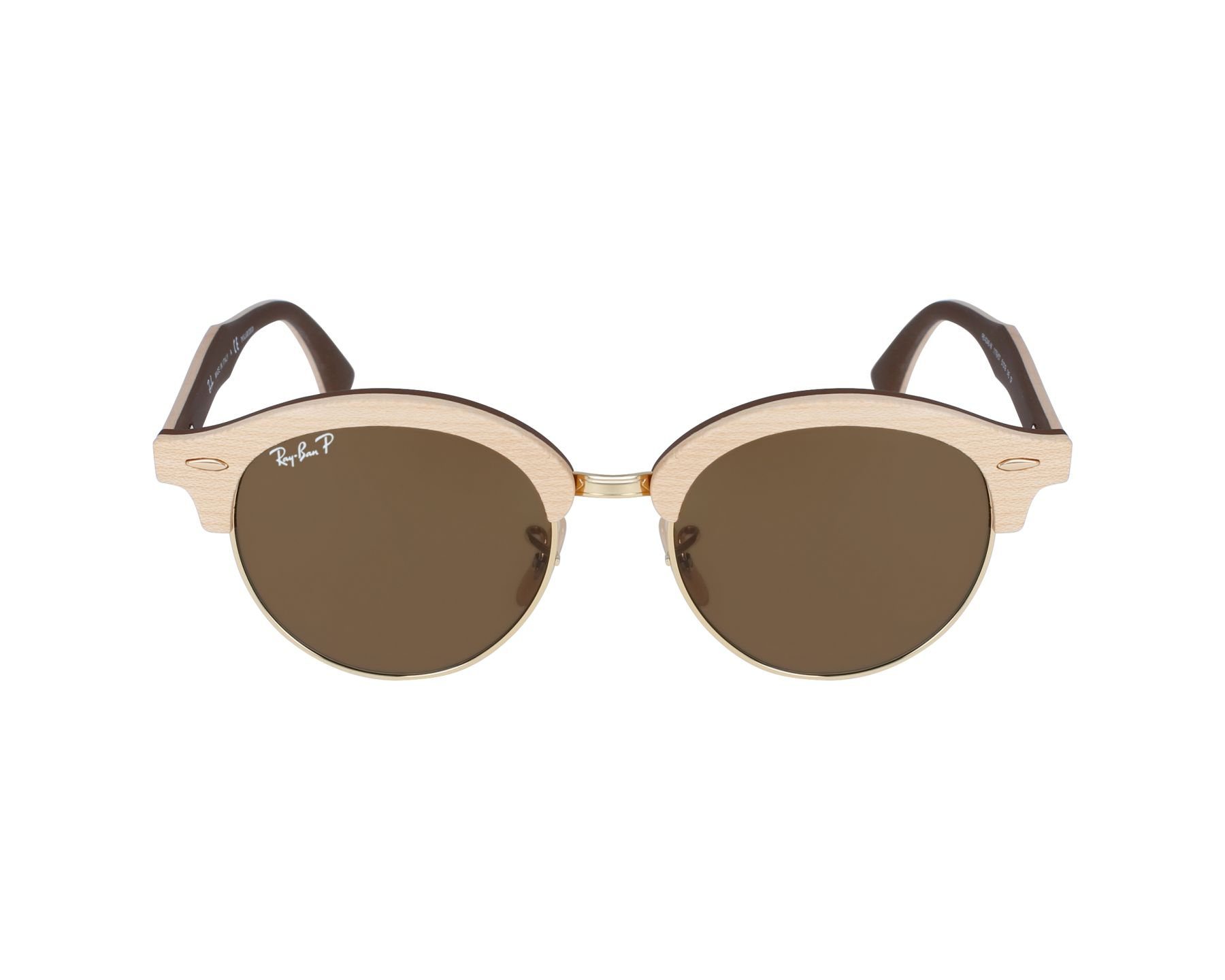 37a9613e70 Ray-Ban Sunglasses Clubmaster Wood RB-4246-M 1179 57