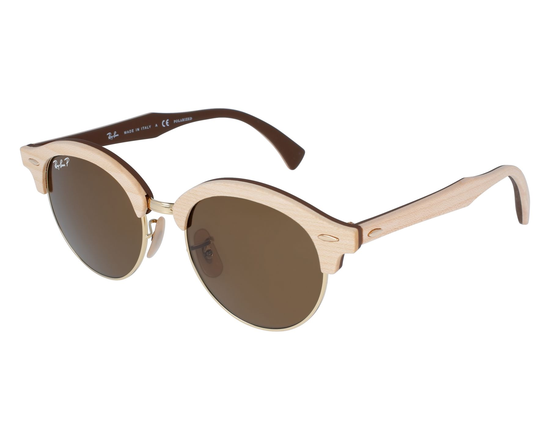 Ray-Ban Sunglasses RB-4246-M 1179/57 Wood with Brown grey