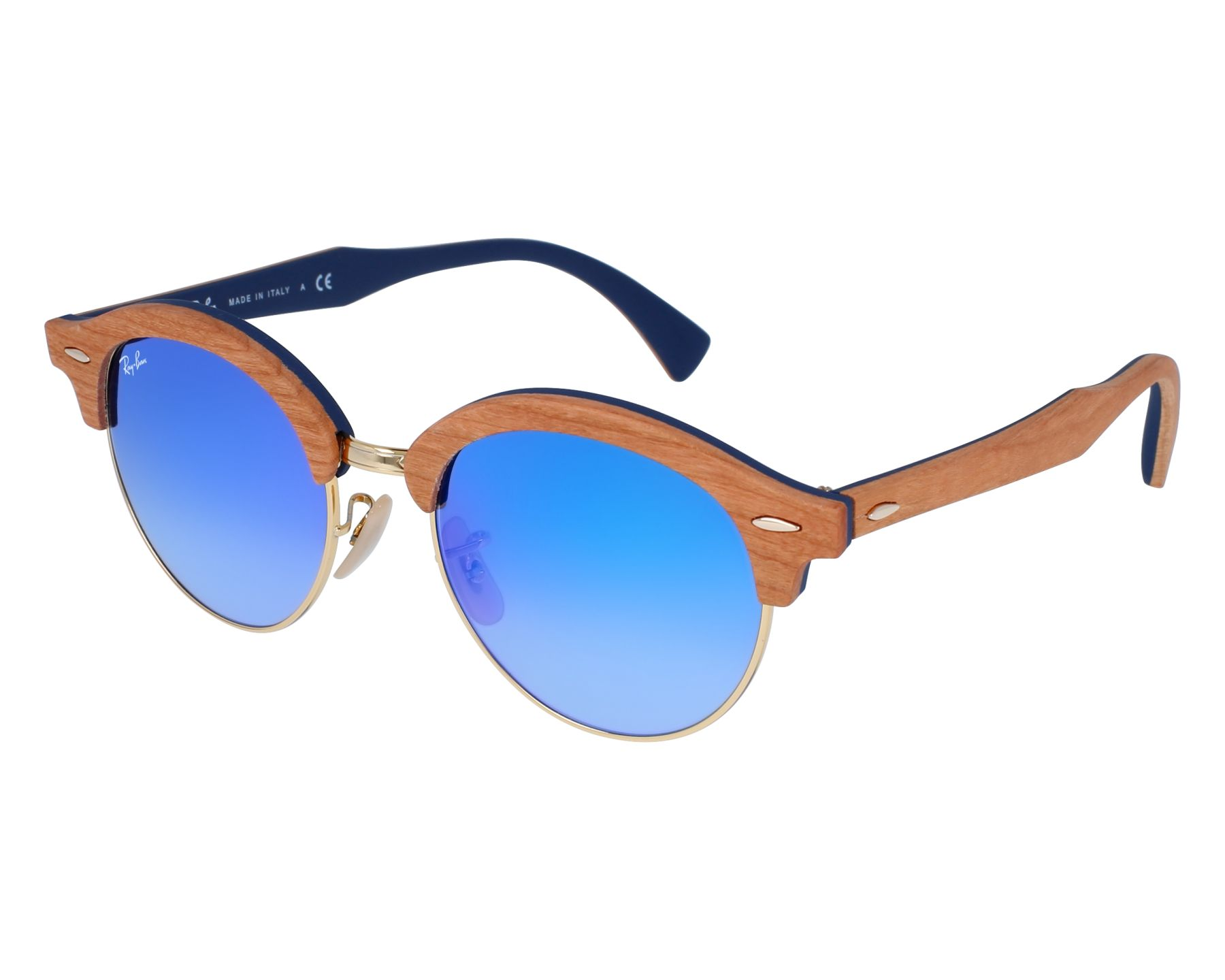 9957aa359b Sunglasses Ray-Ban RB-4246-M 11807Q 51-19 Brown Gold front