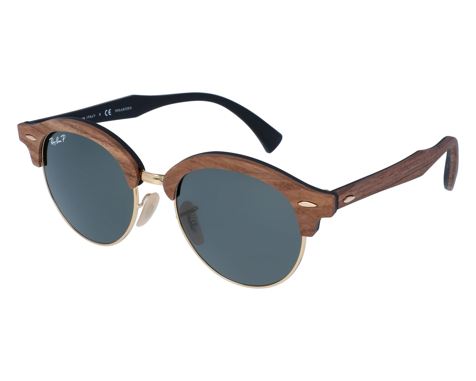a9fd131f84 Ray-Ban Sunglasses Clubmaster Wood RB-4246-M 1181 58