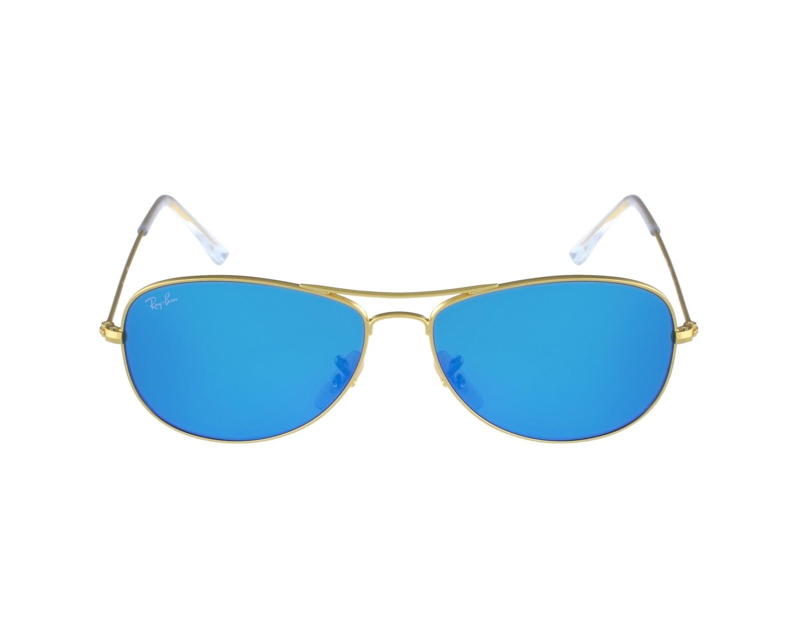 8cface6a3d thumbnail Sunglasses Ray-Ban RB-3362 112 17 - Gold profile view
